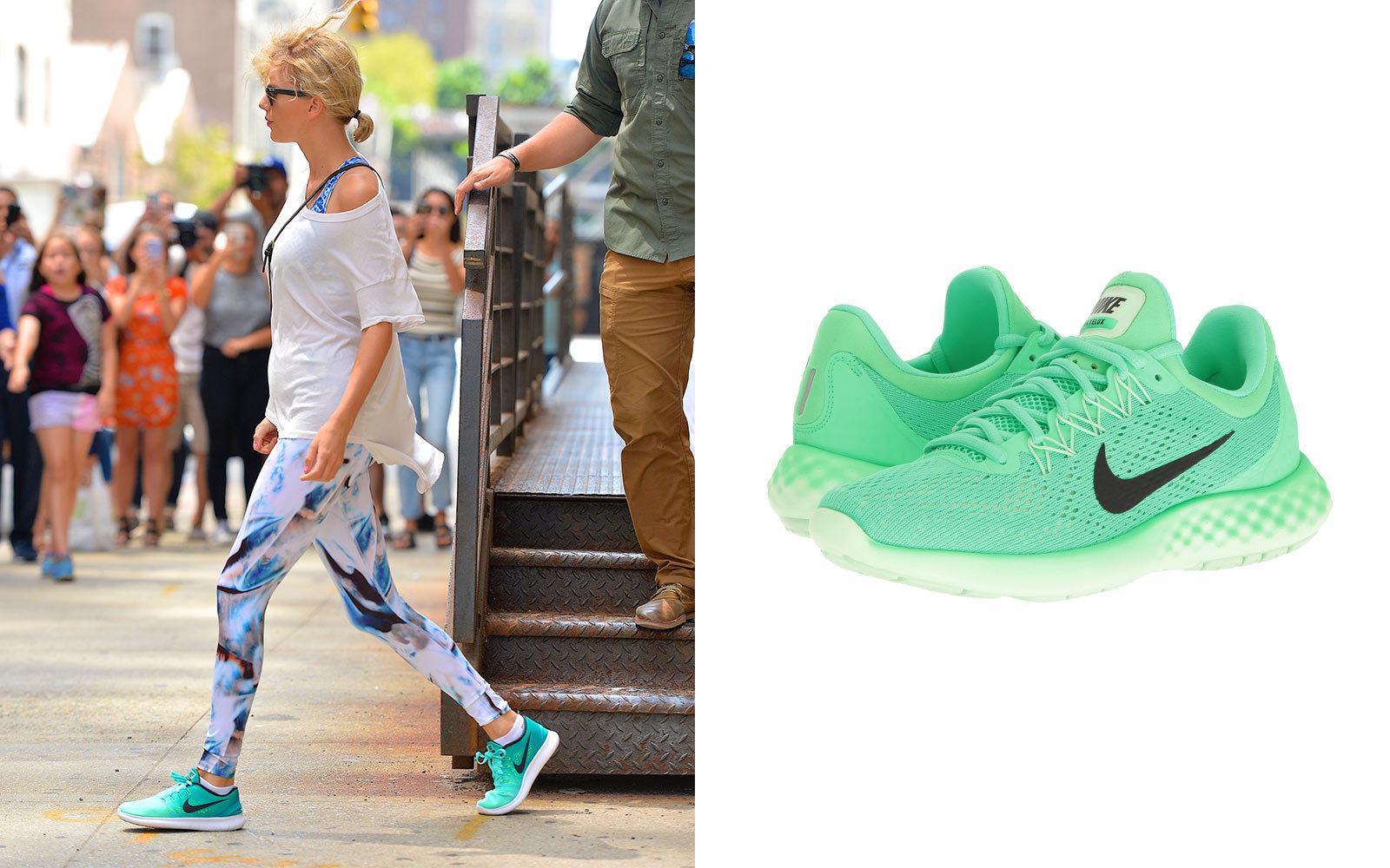 Taylor Swift in Nike sneakers