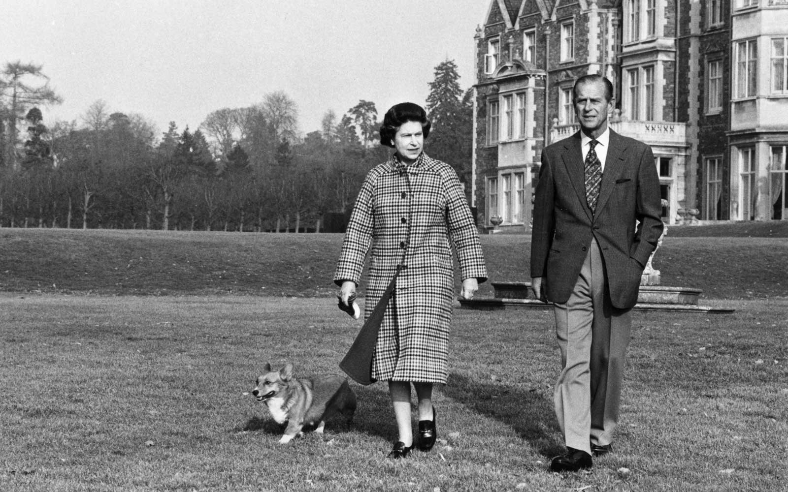 With the Duke of Edinburgh, 1982