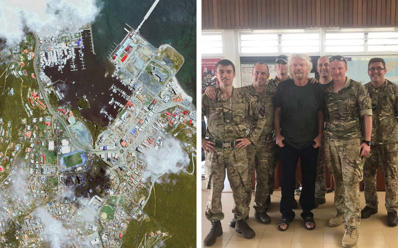 Richard Branson British Virgin Islands Hurricane Irma Reconstruction Rebuild Help