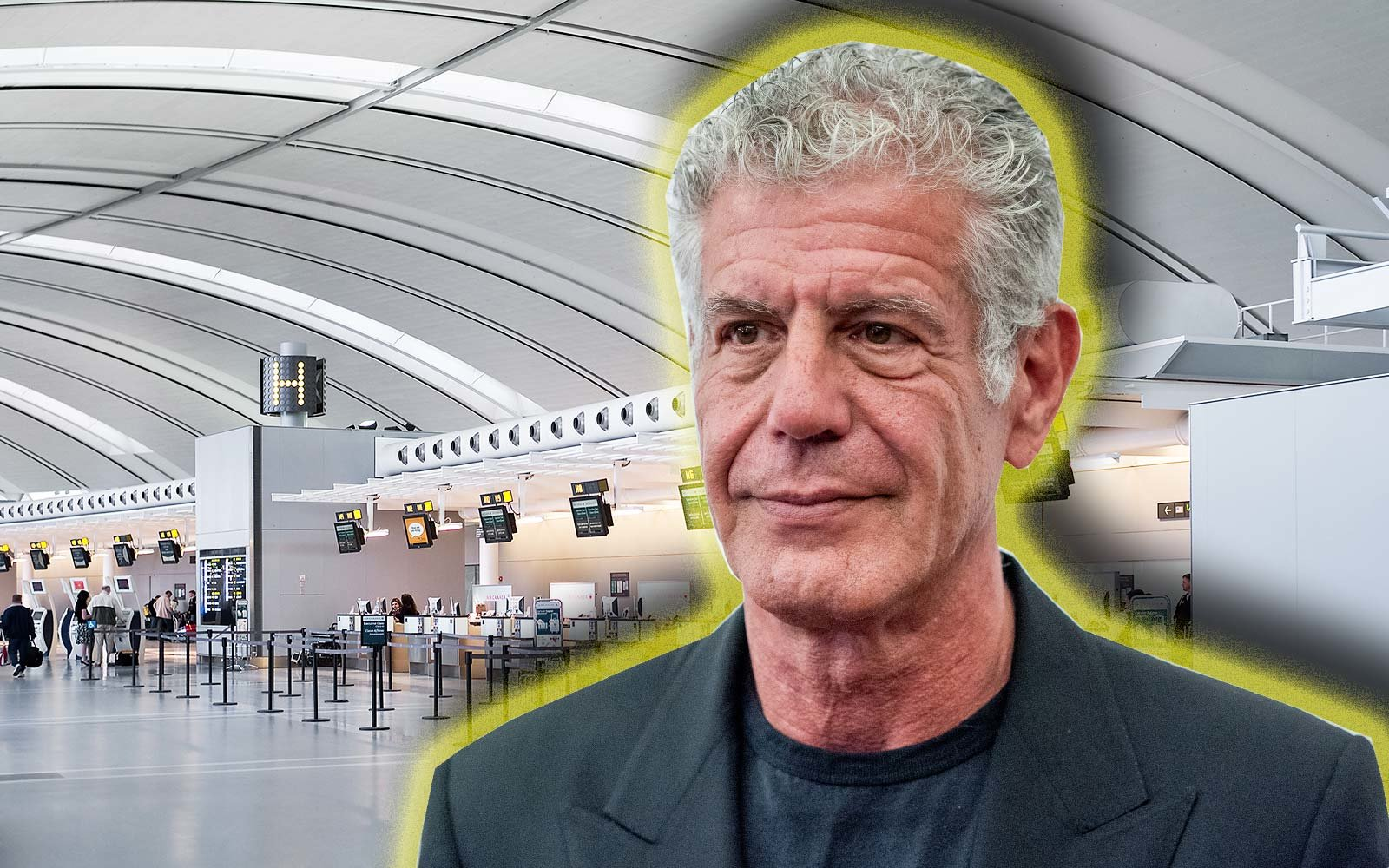 Anthony Bourdain Airport Pet Peeve Parts Unknown