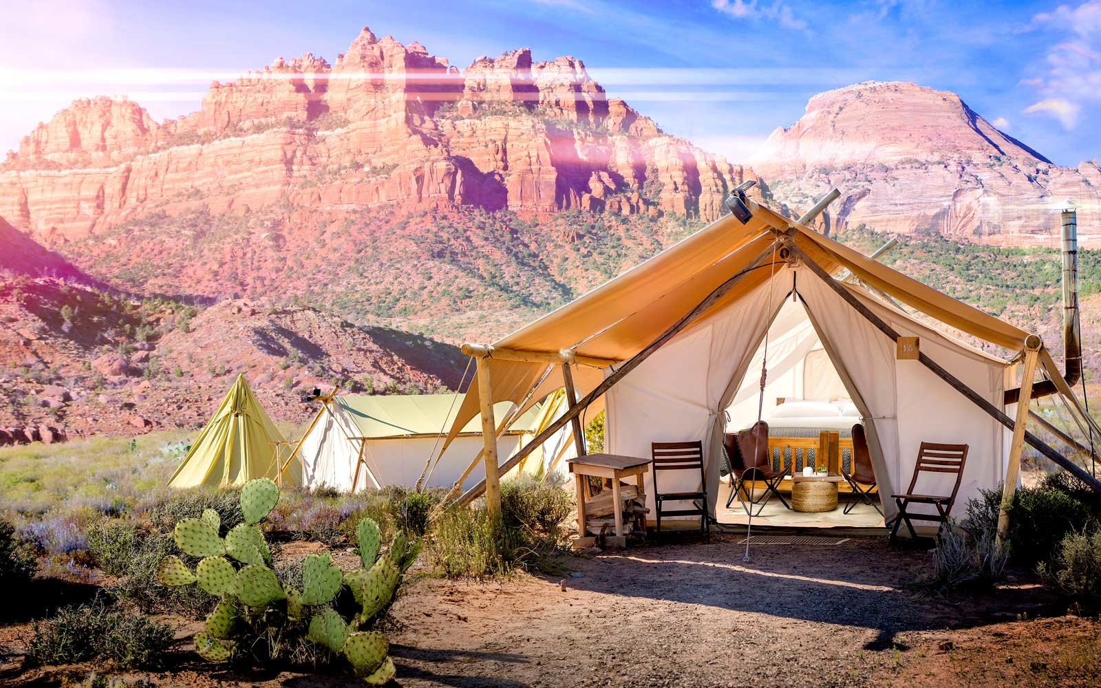 Glamping in Zion National Park