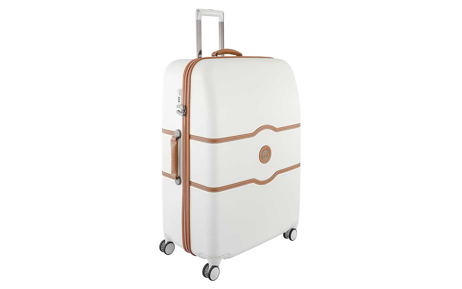 White Roller Bag by Kelsey