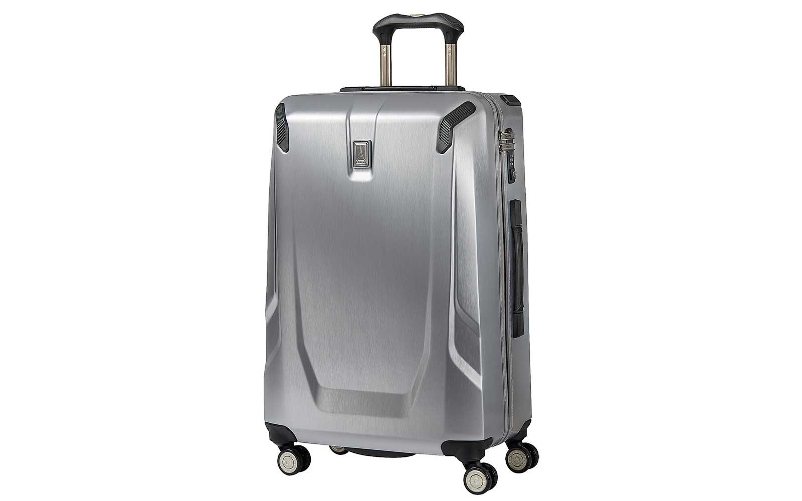 TravelPro Metal Suitcase