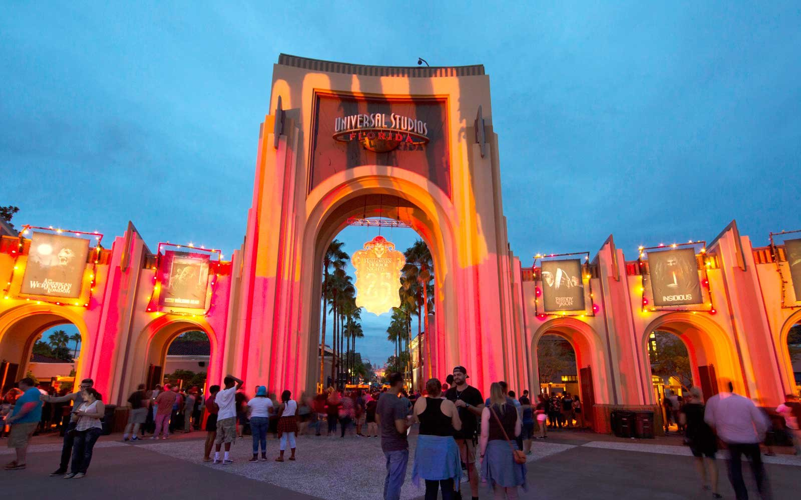 Entrance to Halloween Horror Night at Universal Studios Orlando