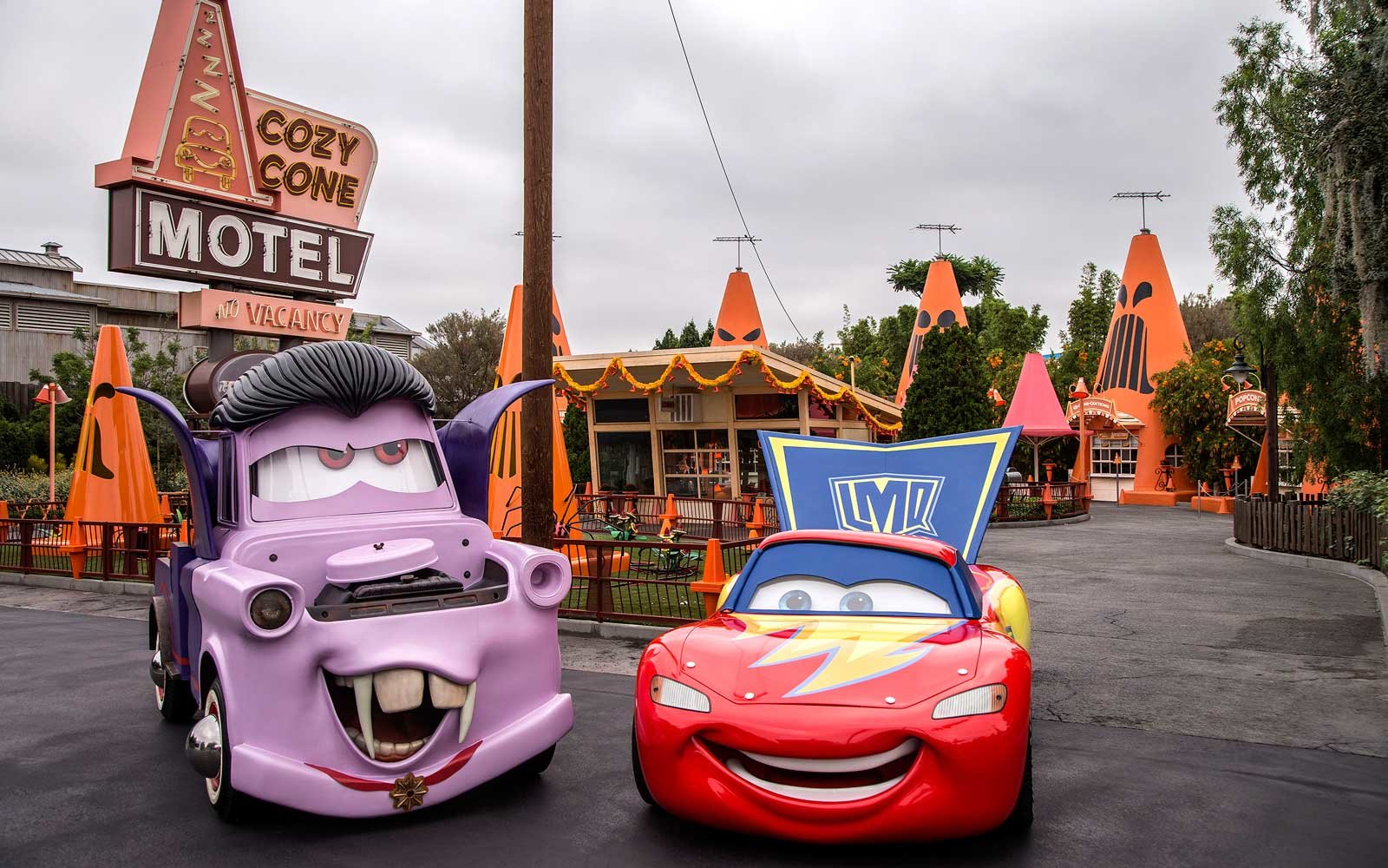 Cars Halloween at Disneyland