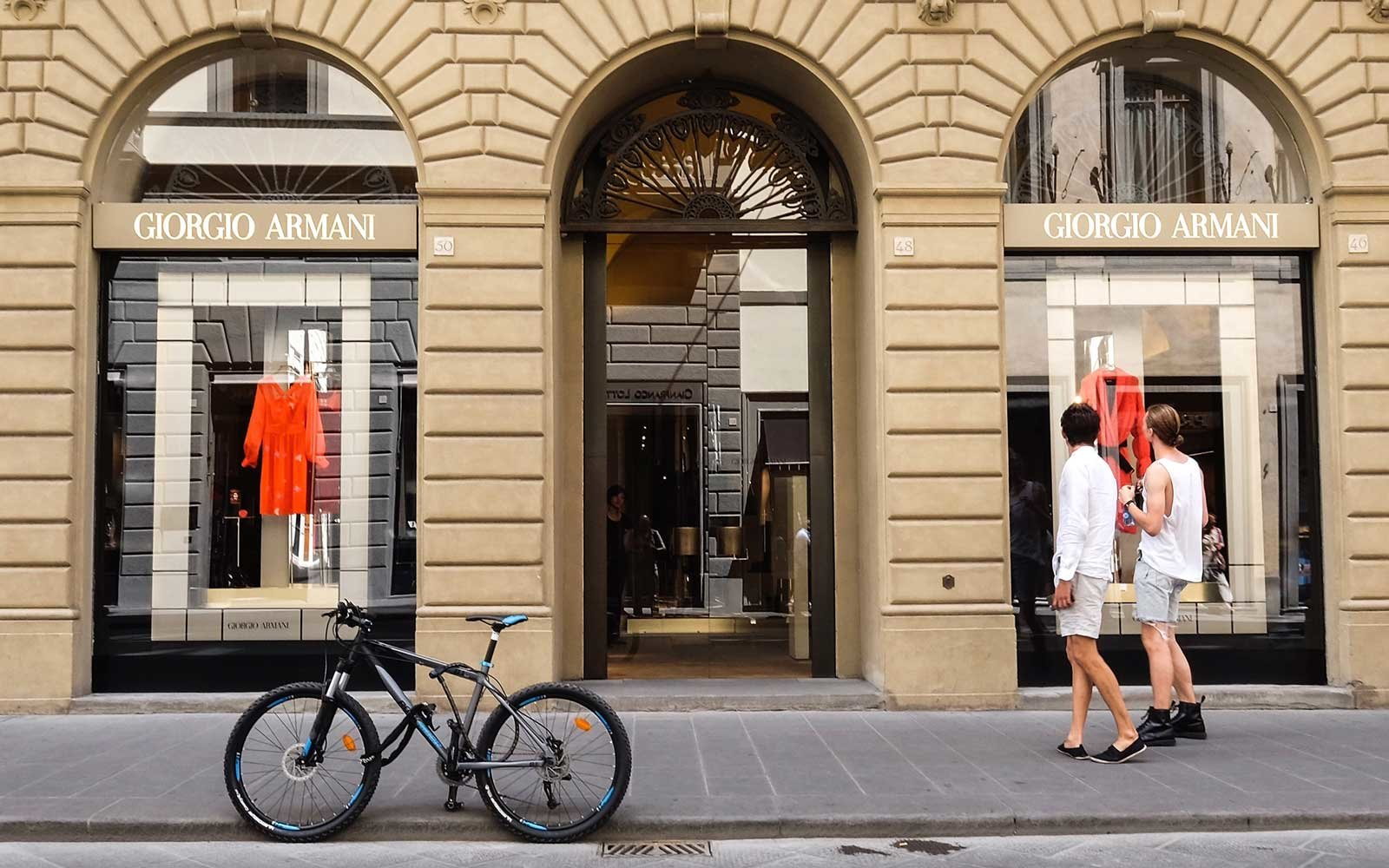 Shopping in Florence, Italy
