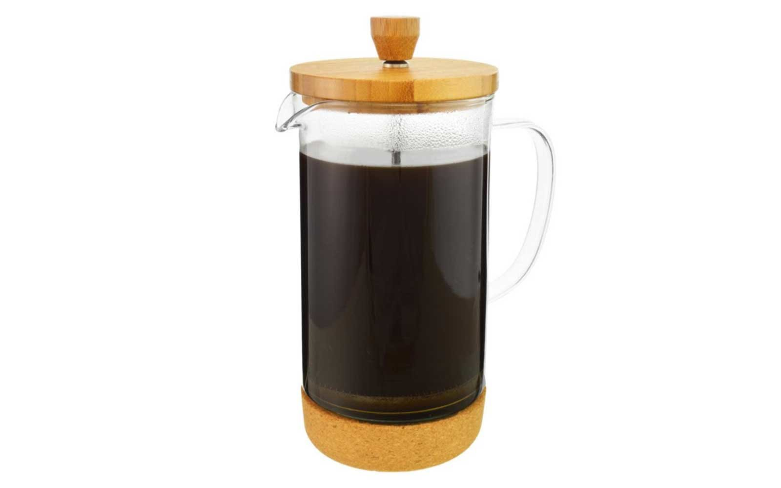 Bamboo and Cork French Press