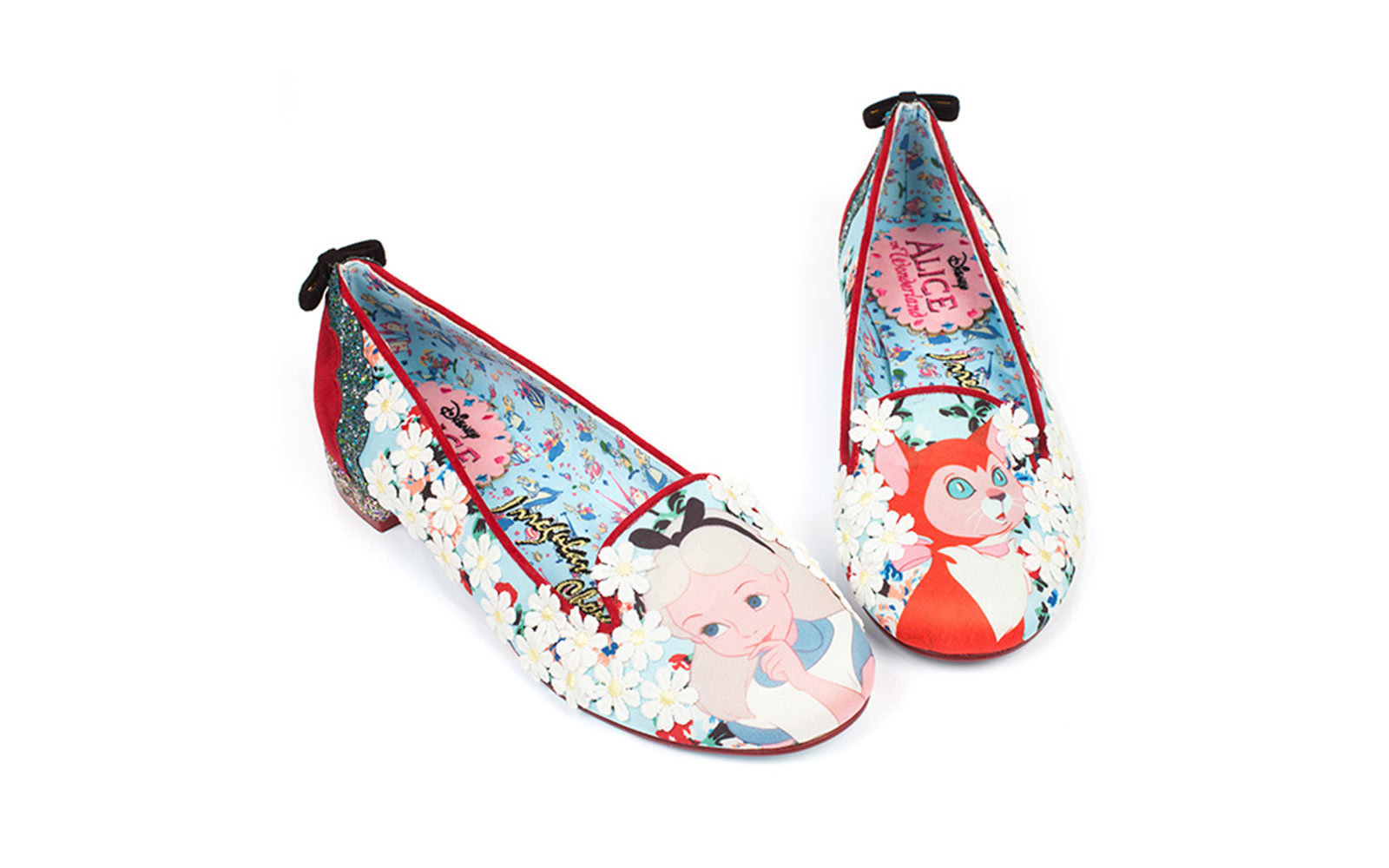 Alice in Wonderland flats