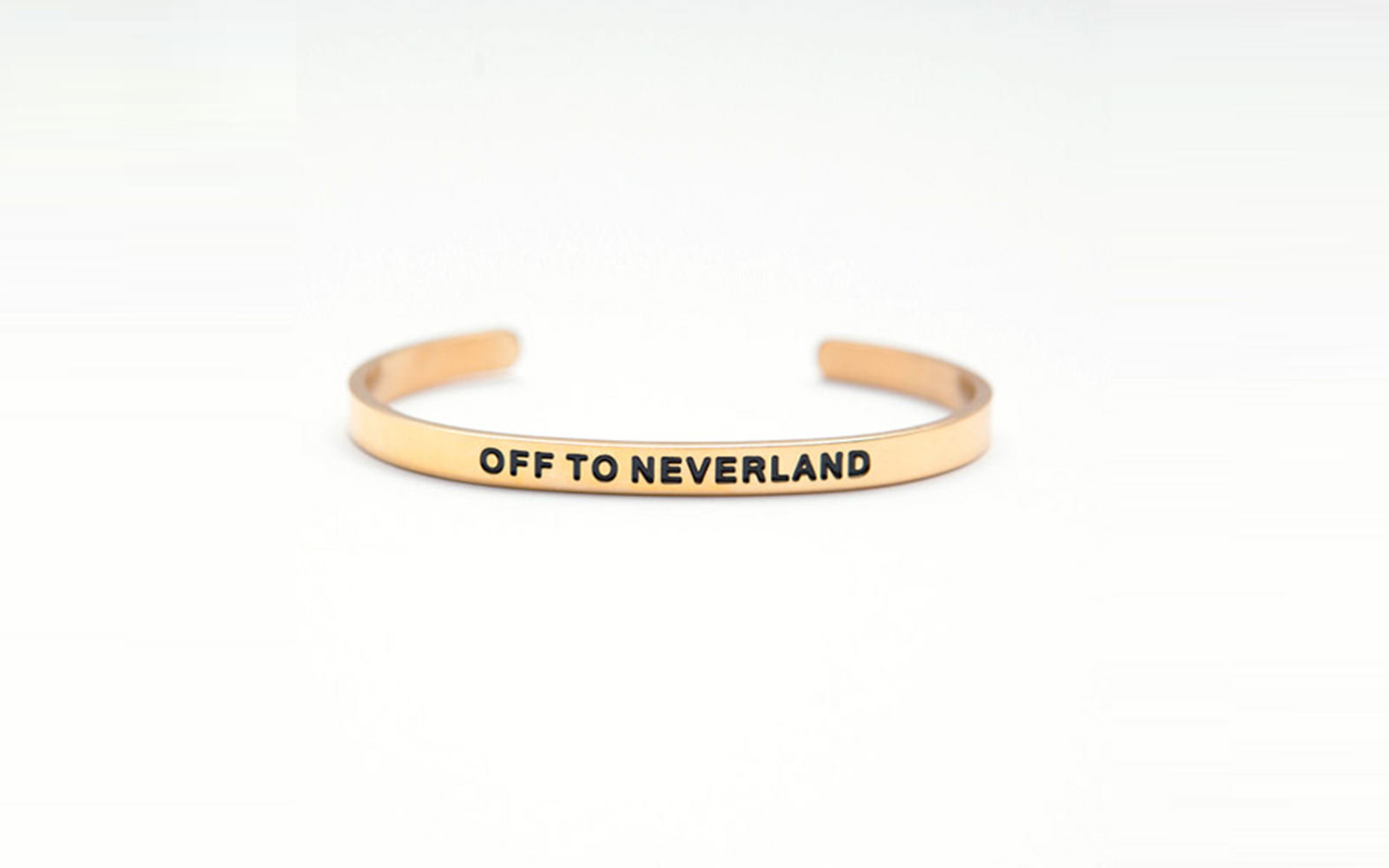 Off to Neverland bracelet