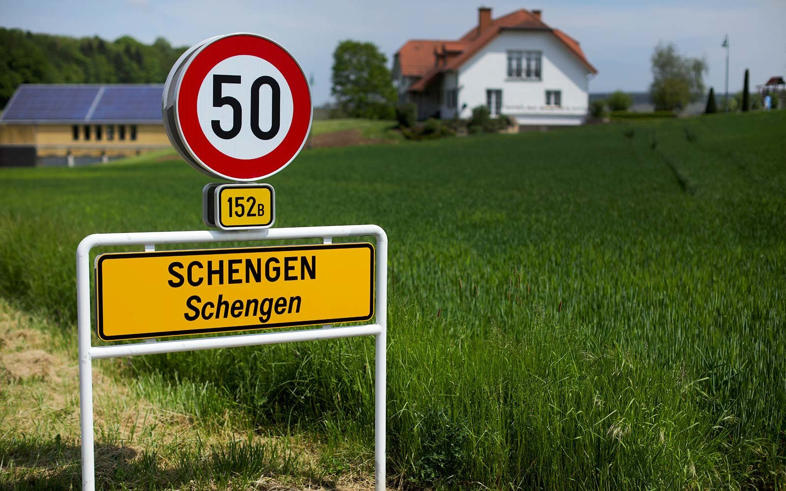 Schengen Agreement Europe border crossing Luxembourg