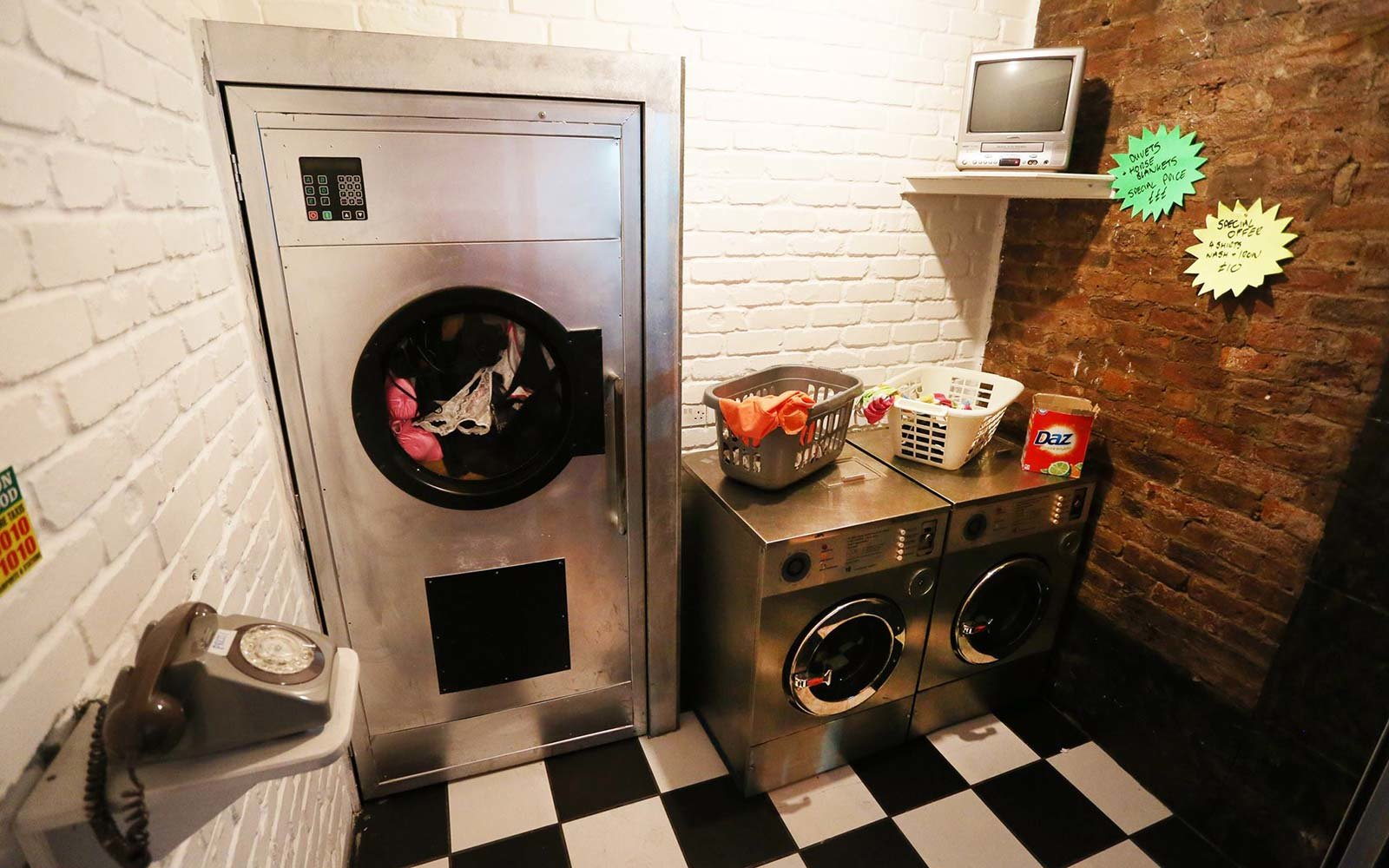 This Laundromat Is Actually A Secret Cocktail Bar Travel