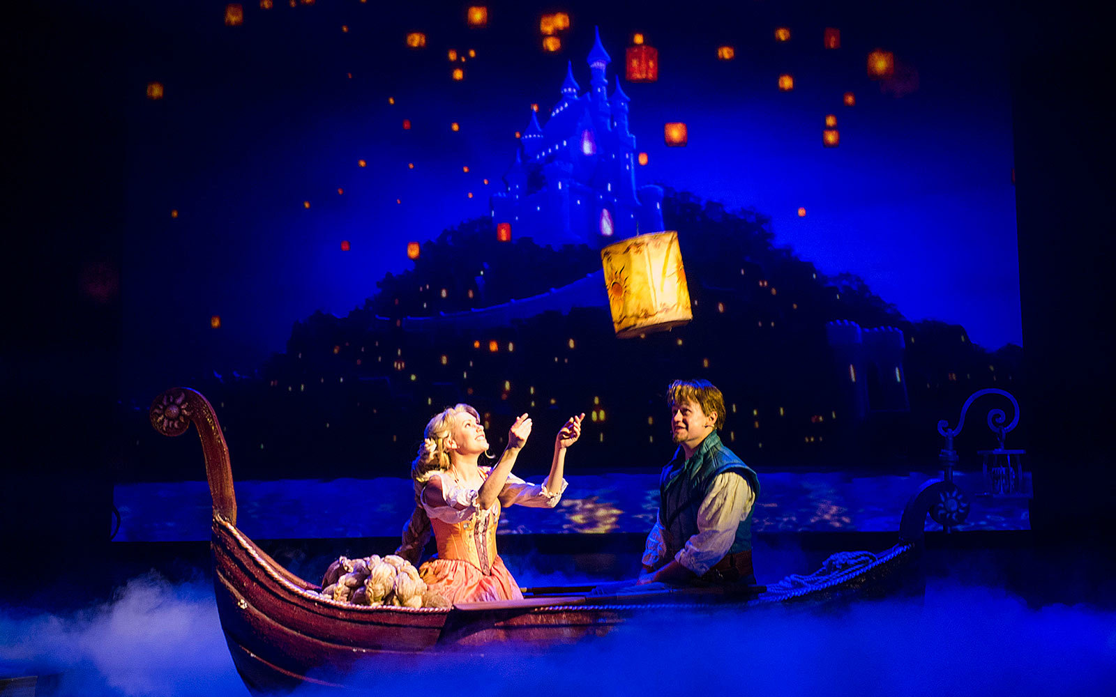 You can visit the world of Tangled without leaving the ship.