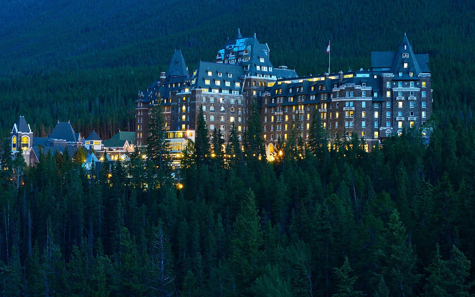 The Fairmont Banff Springs Hotel, Calgary, Alberta