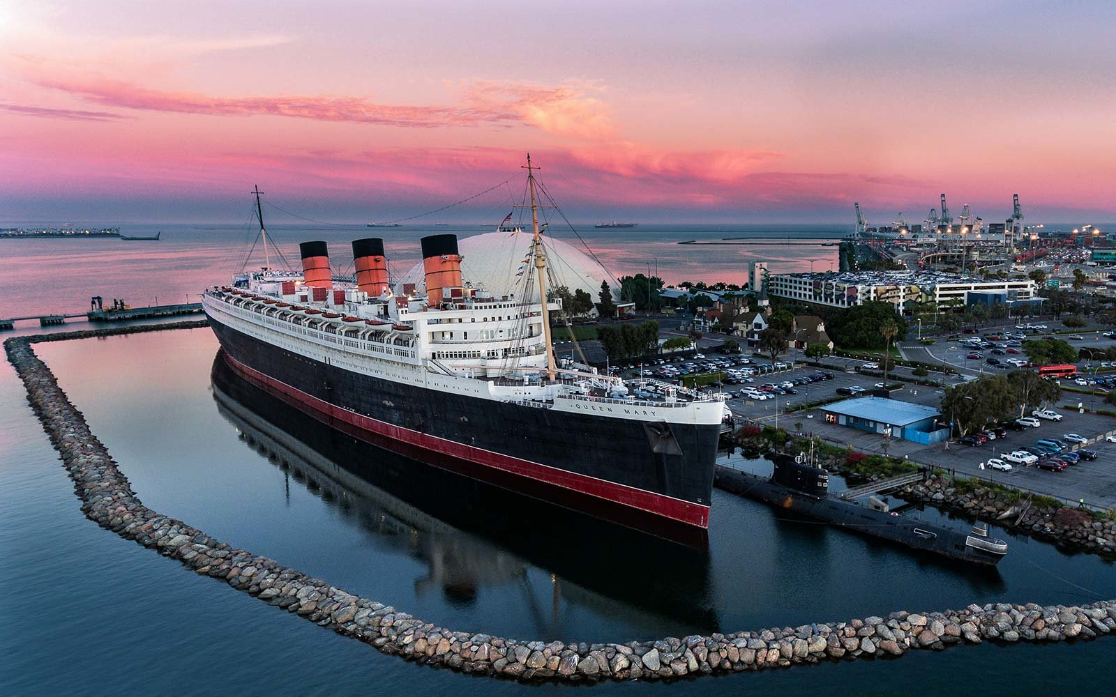 queen mary ship long beach california