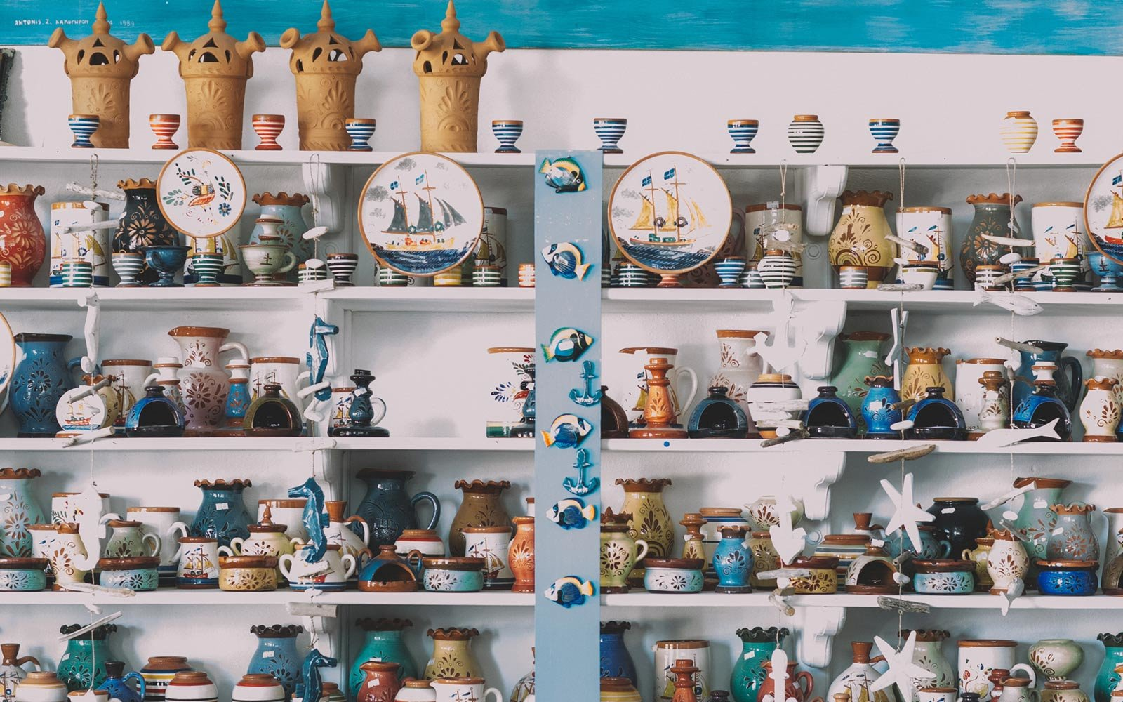 Potter Shop, Sifnos, Greece