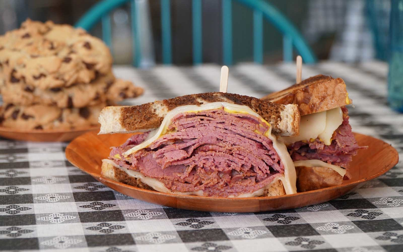 Pastrami Sandwich at Not Your Typical Deli in Gilbert Arizona