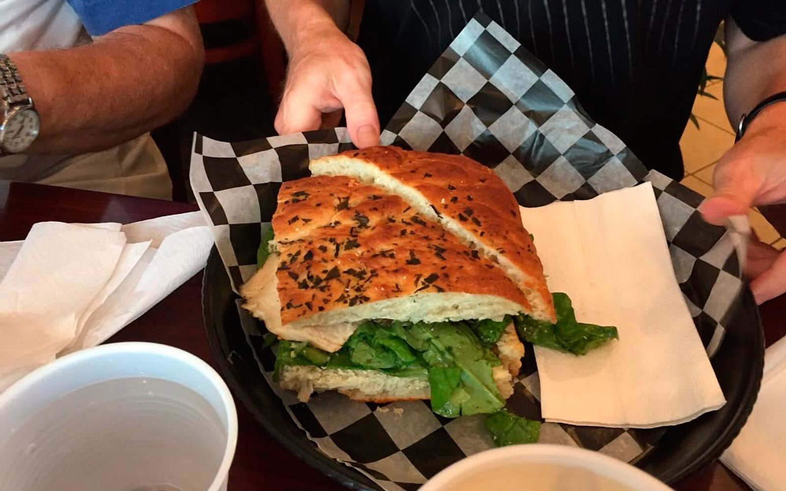 Soup and Sandwich at Zuppa Cucina, in Shakopee Minnesota