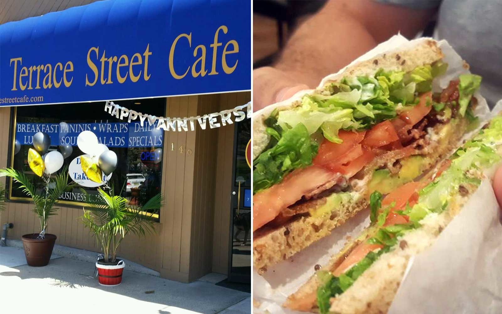 Terrace Street Cafe in Haworth New Jersey