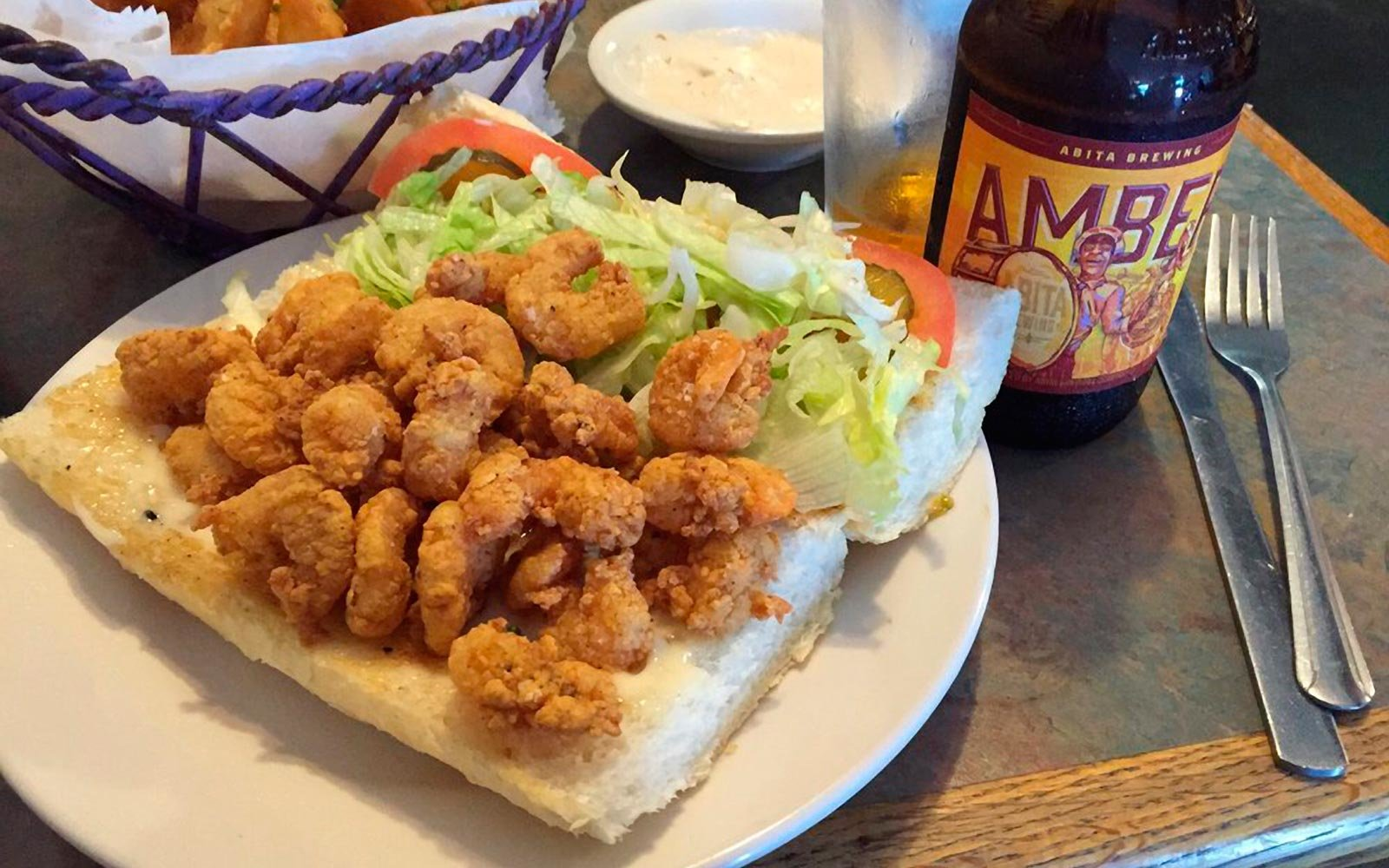 Po Boy's at Avery's on Tulane in Louisiana