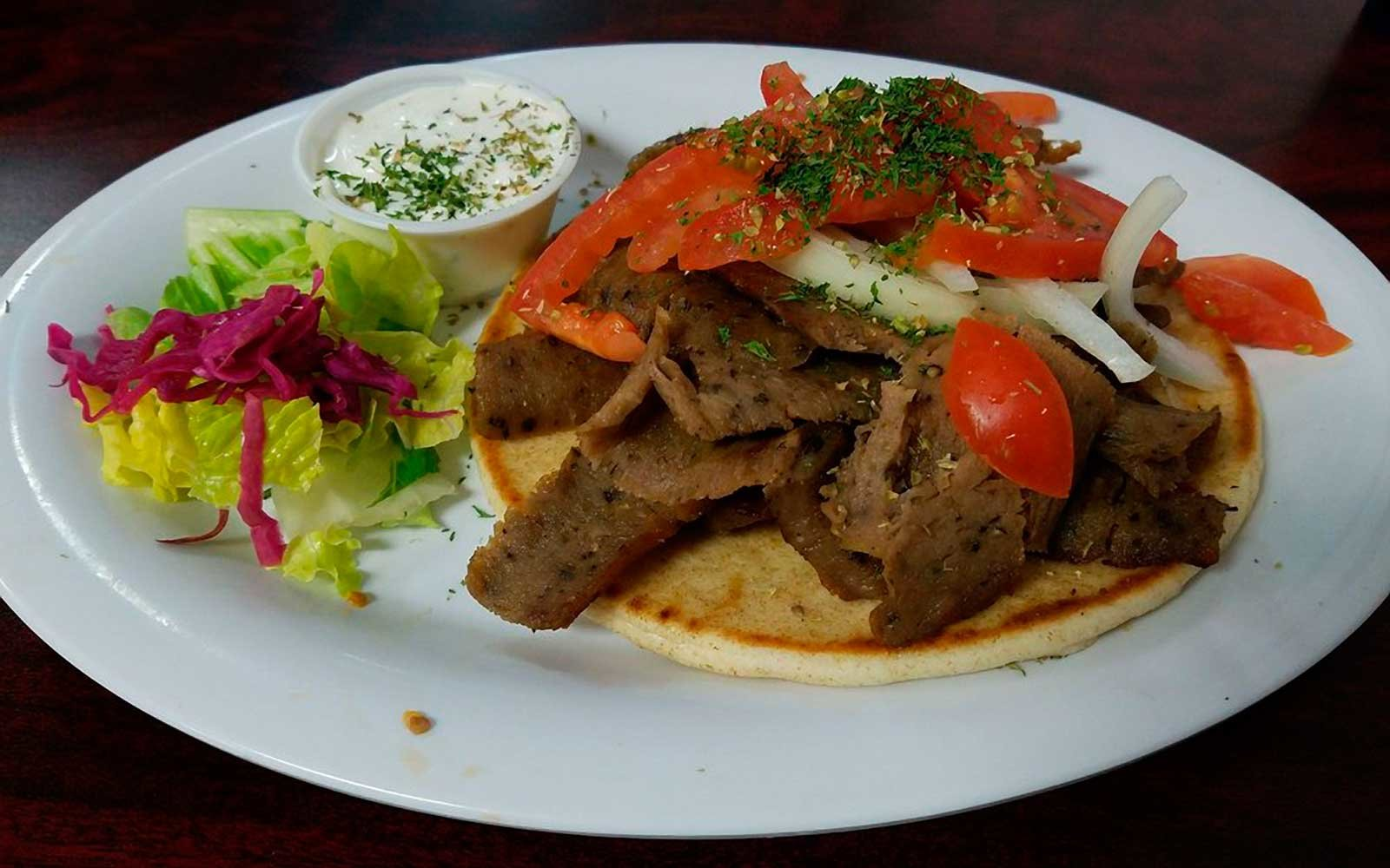 Gyros at Gyro Hub in Rapid City South Dakota
