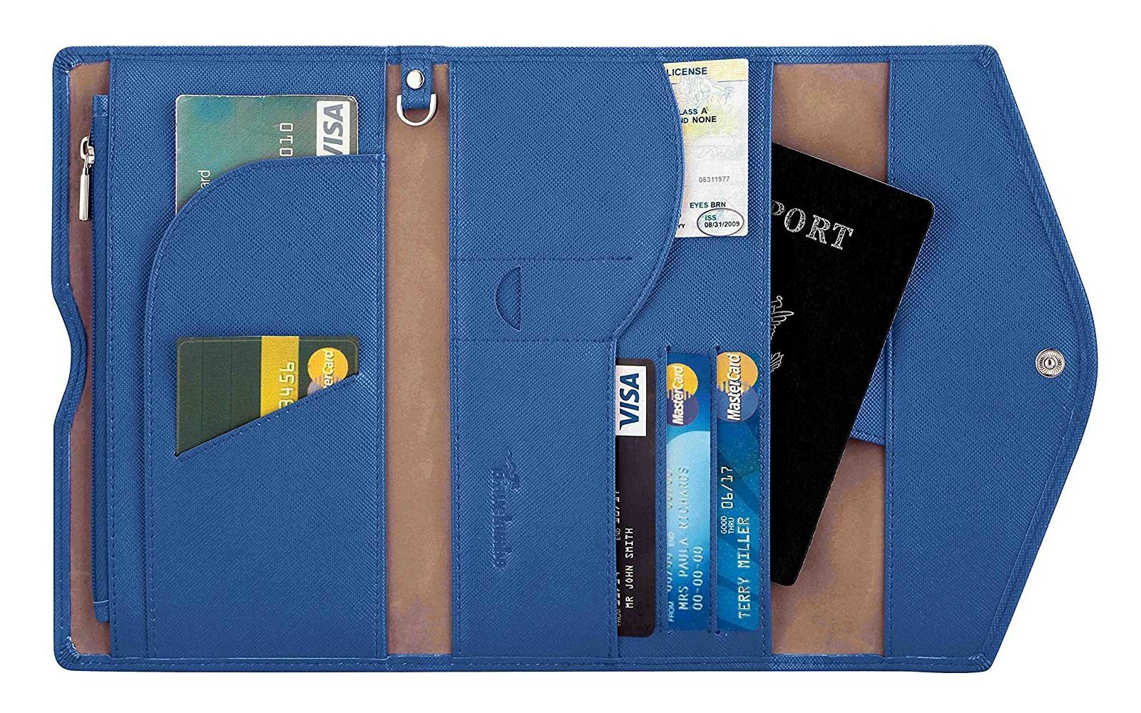 Organizer Wallet for Traveling