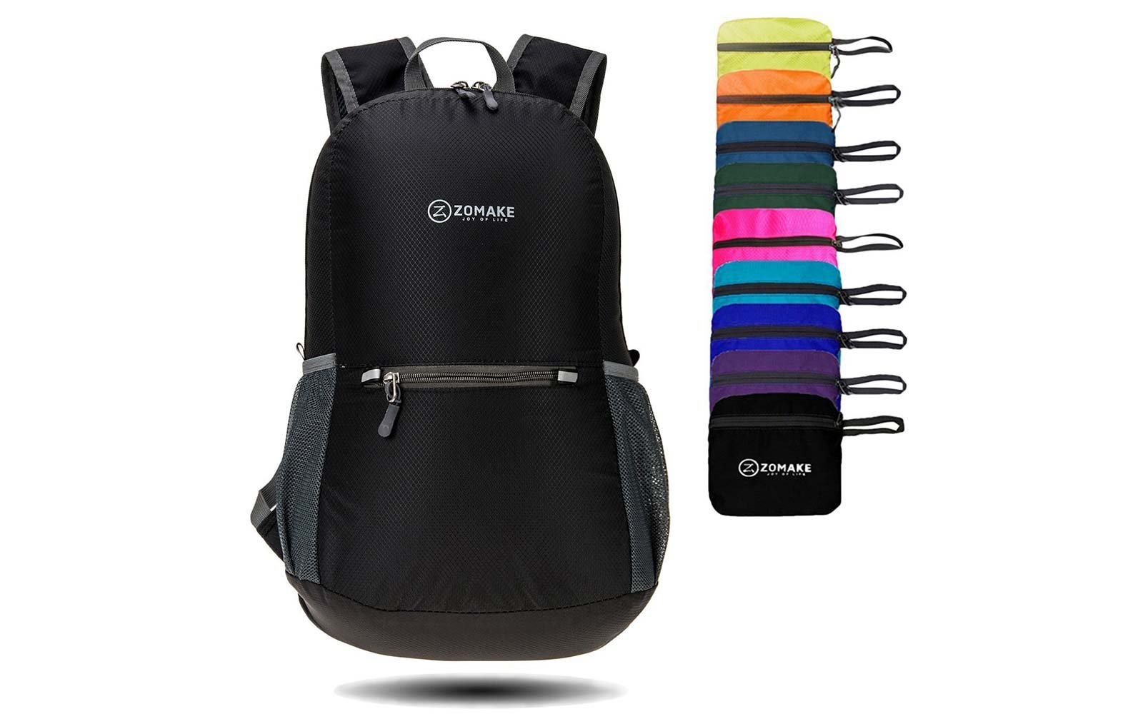 Zomake Packable Water Resistant Backpack Gift Guide Under 25