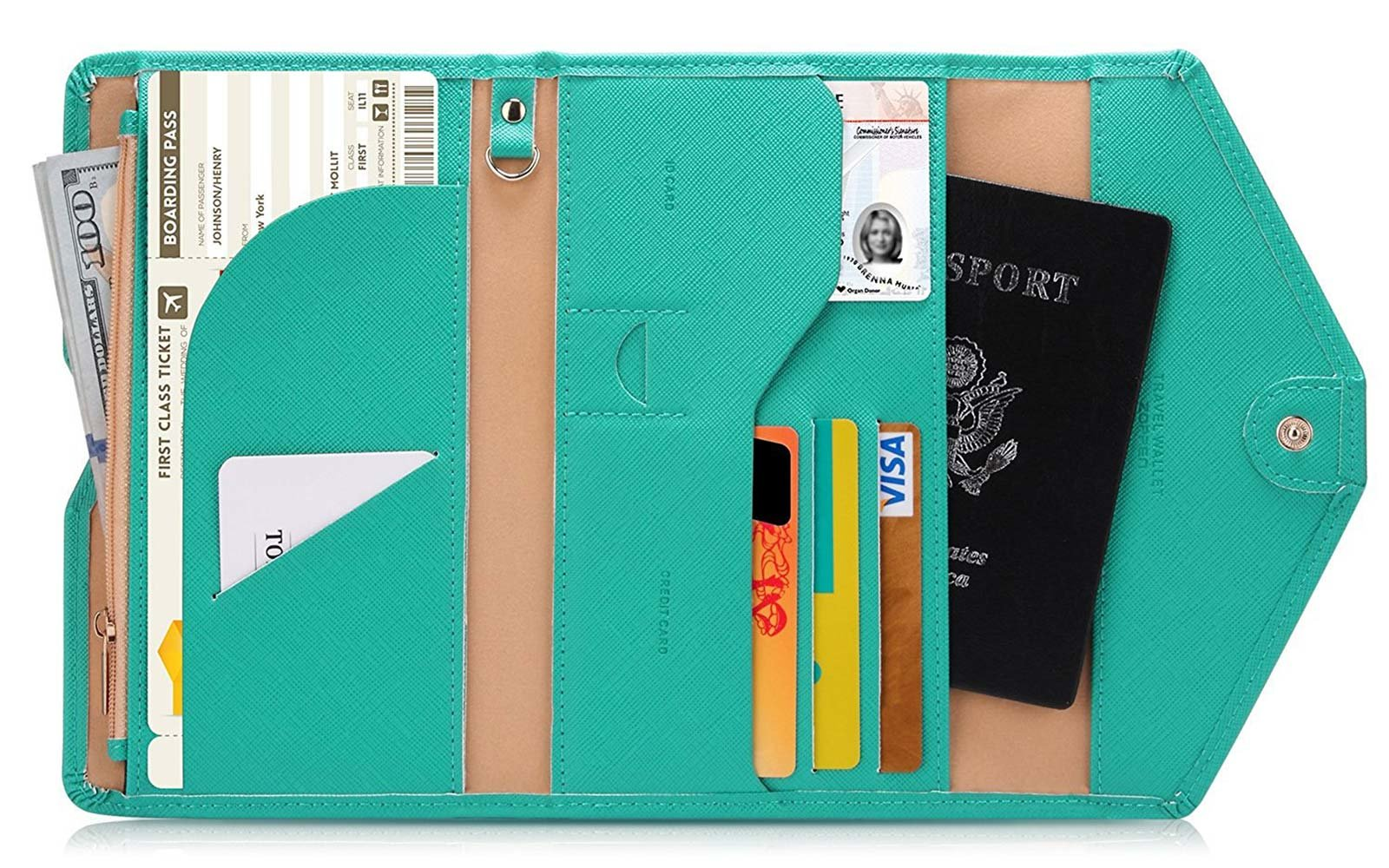 Zoppen Passport Wallet Gift Guide Under $25