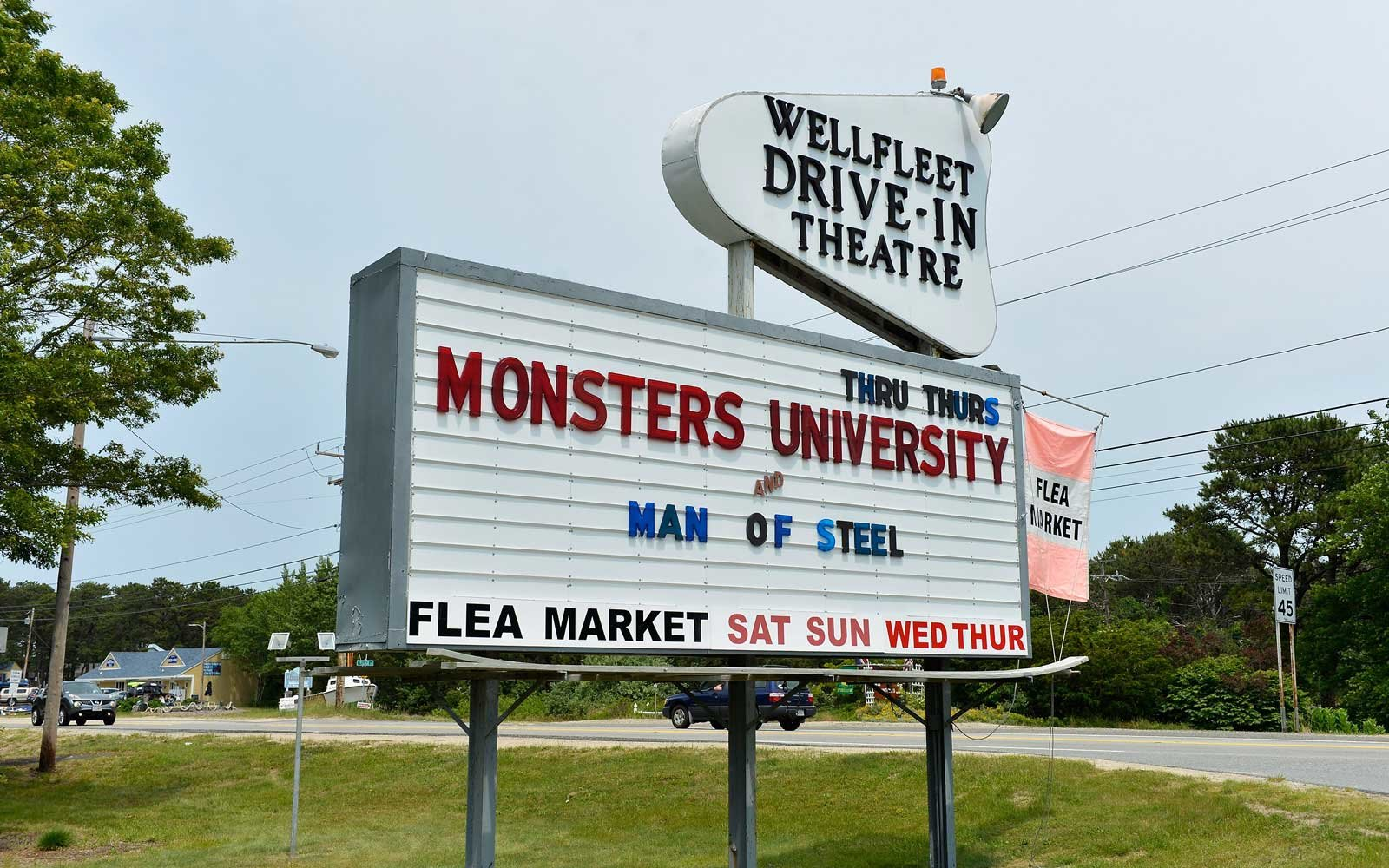 Wellfeet Drive In Theater Cape Cod