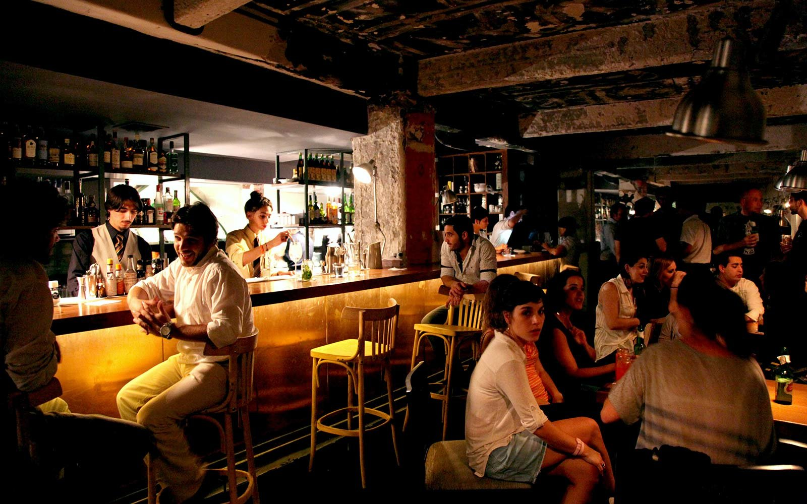 Hidden Secret Bars Around the World Floreria Atlantico Buenos Aires Argentina