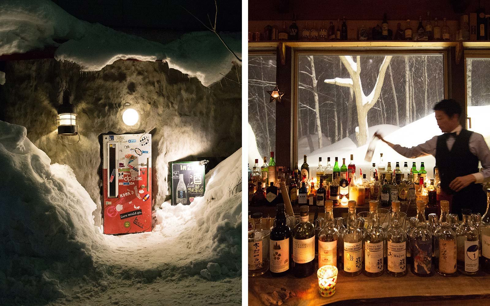 Hidden Secret Bars Around the World Gyu Bar Niseko Japan