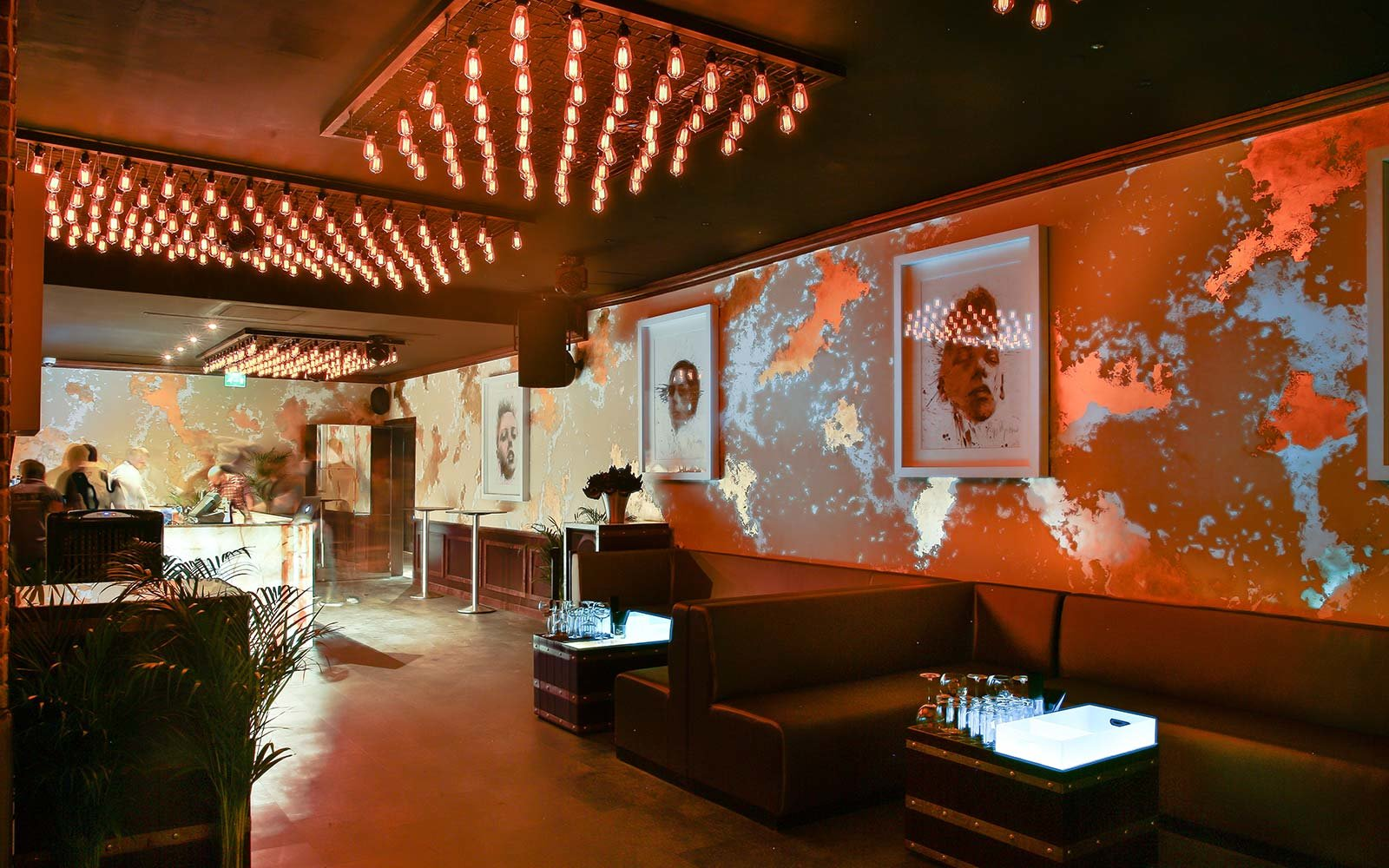 Hidden Secret Bars Around the World The Hobo Club Dubai United Arab Emirates