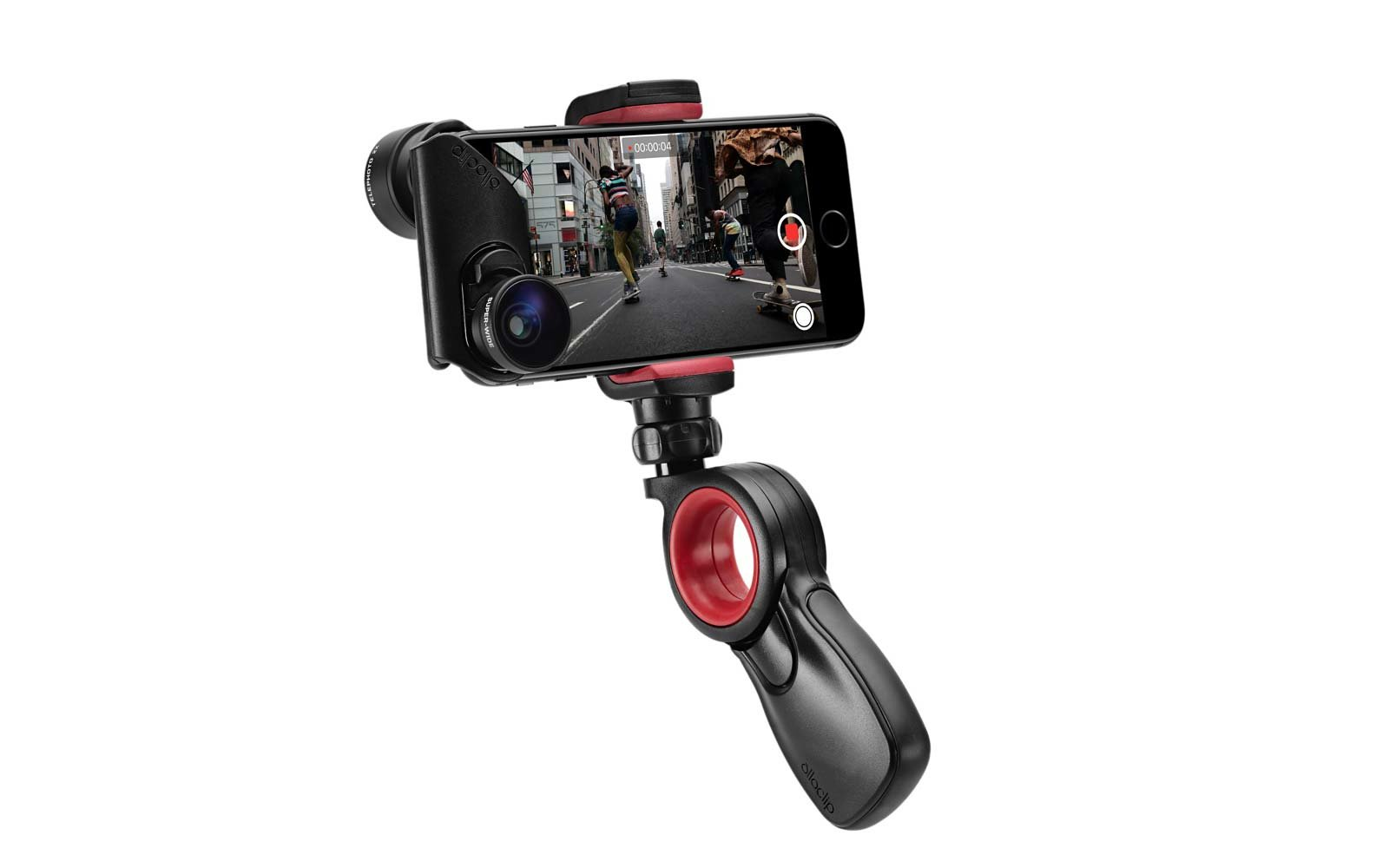 Travel Tech Gadgets Technology Olloclip Apple camera grip