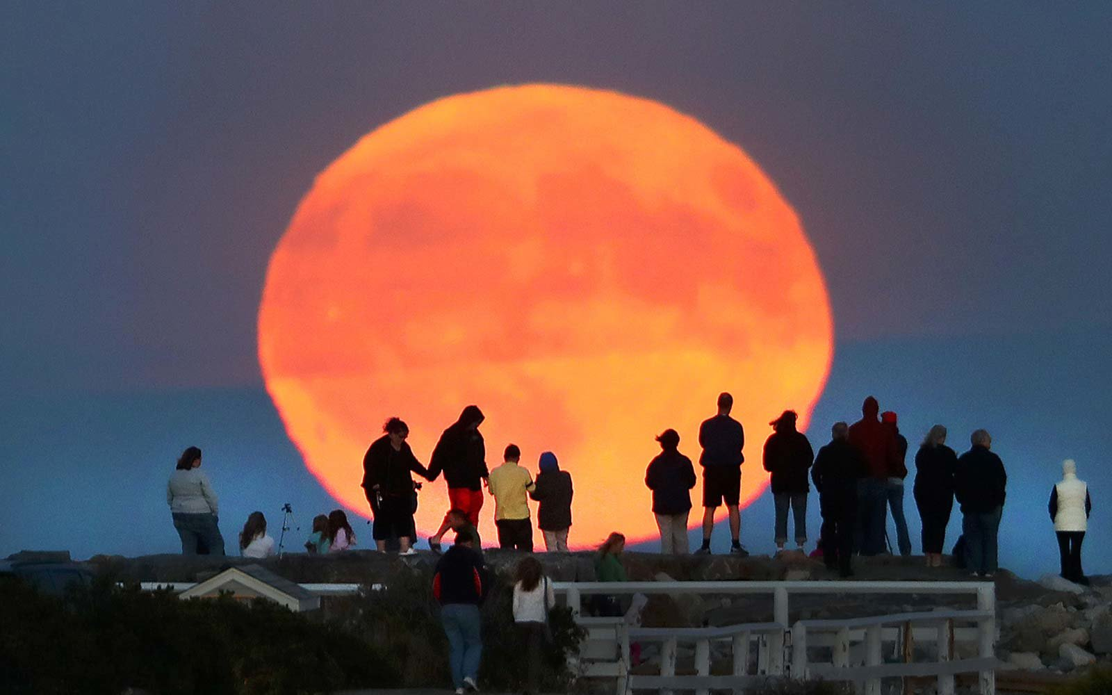 """A rare """"Harvest Moon"""" is coming. Here's what that means"""