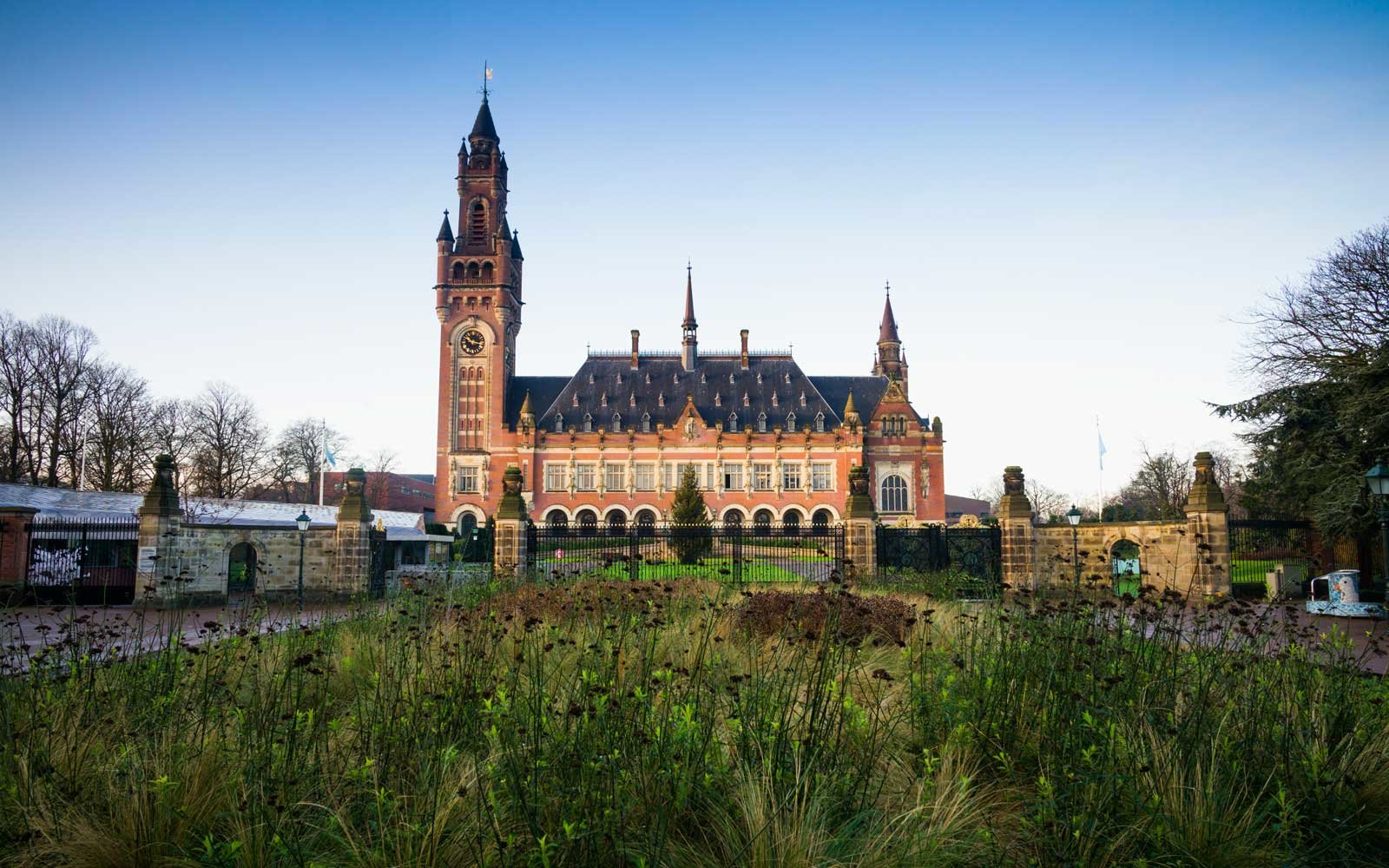 Peace Palace, The Hague, Netherlands