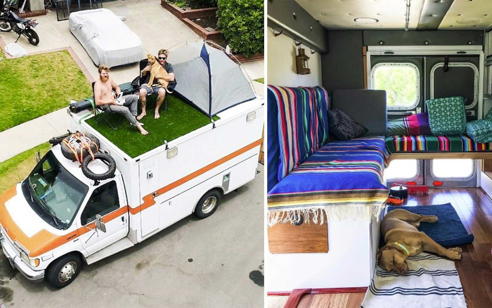 Old Ambulance For Sale >> This Man Travels Around the World in a Tricked Out Ambulance Van | Travel + Leisure