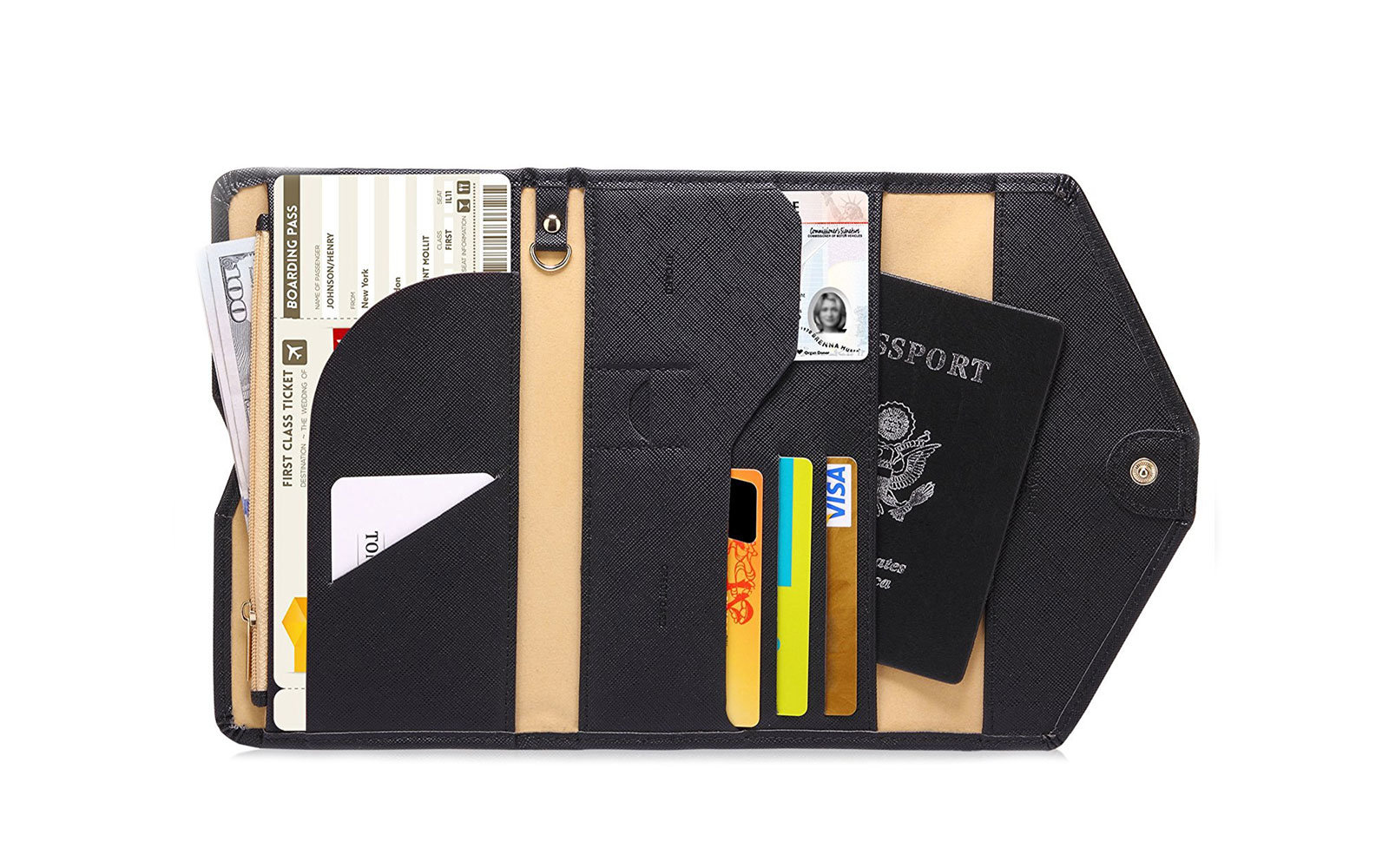 carry on essentials wallet