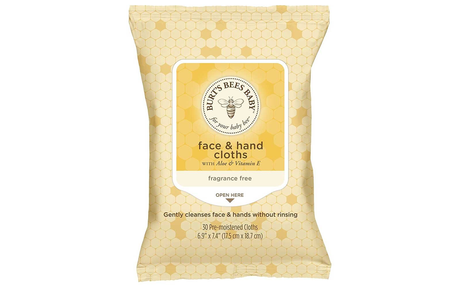 Burt's Bees Baby Face and Hand Wipes