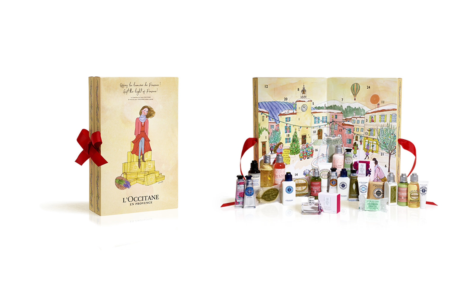 Beauty Advent Calendar from L'Occitane