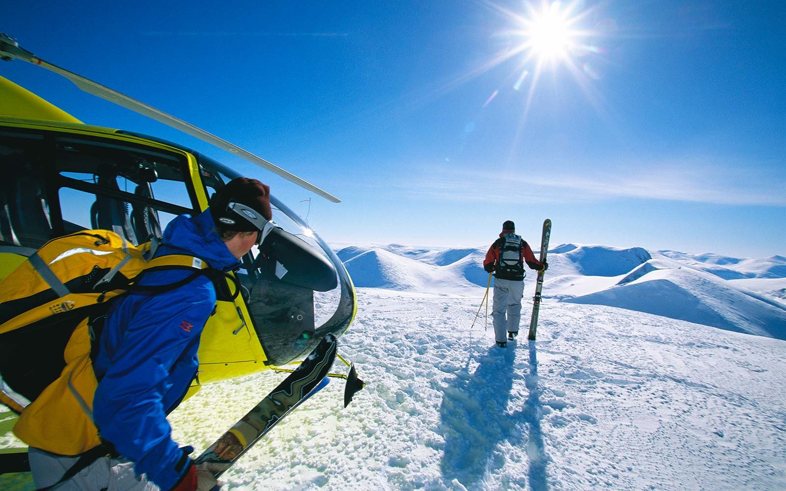 Go heli-skiing in Idaho