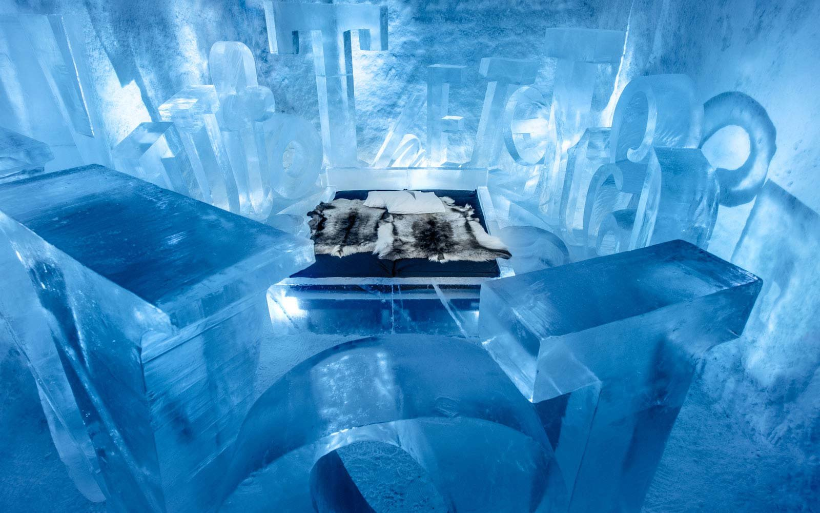 Stay in an ice hotel Sweden