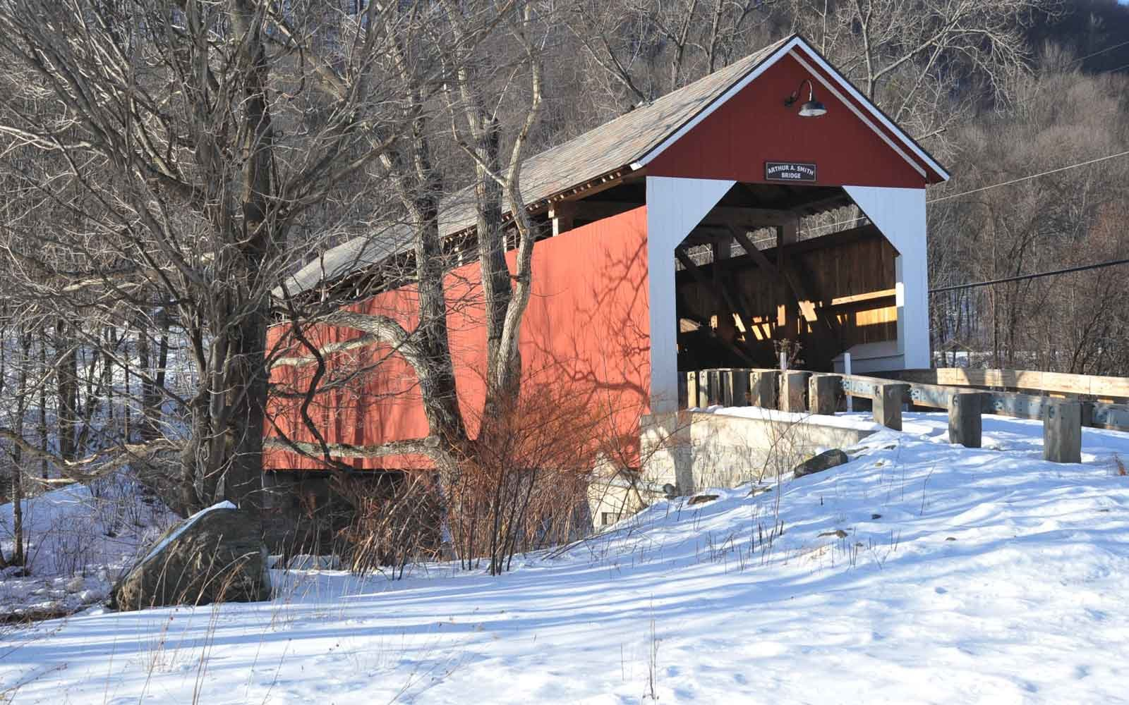 The Beauty of New England Covered Bridges