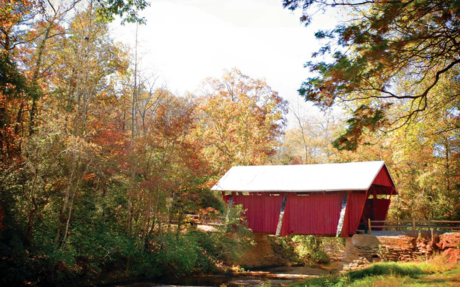 Campbell's Covered Bridge: Landrum, South Carolina