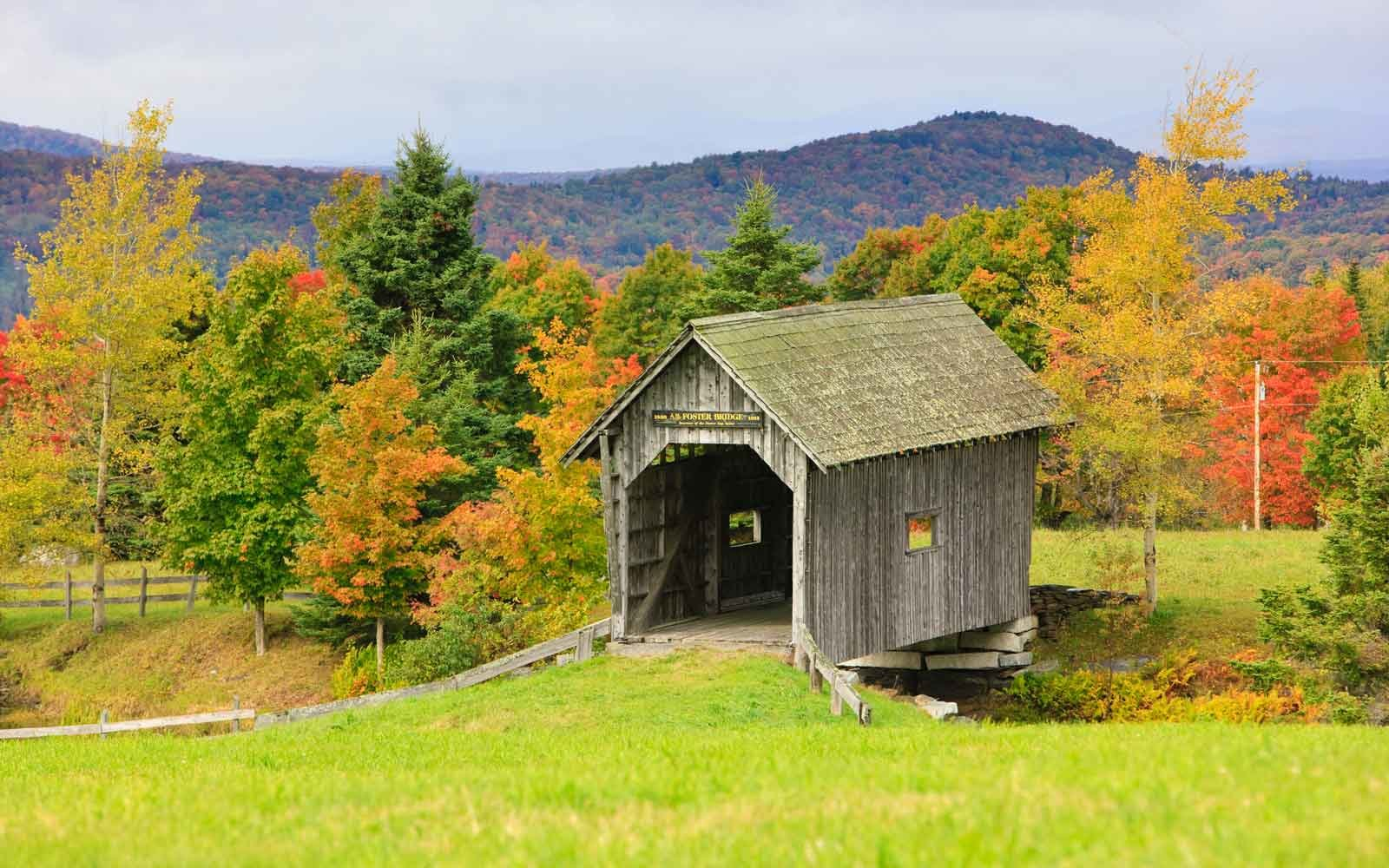 A. M. Foster Covered Bridge: Cabot, Vermont