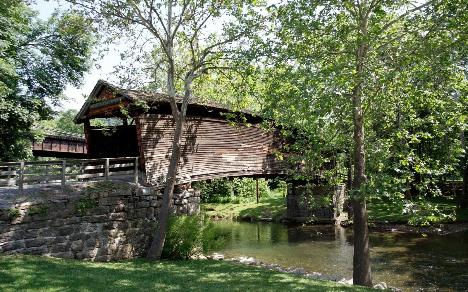 Humpback Covered Bridge Covington Virginia