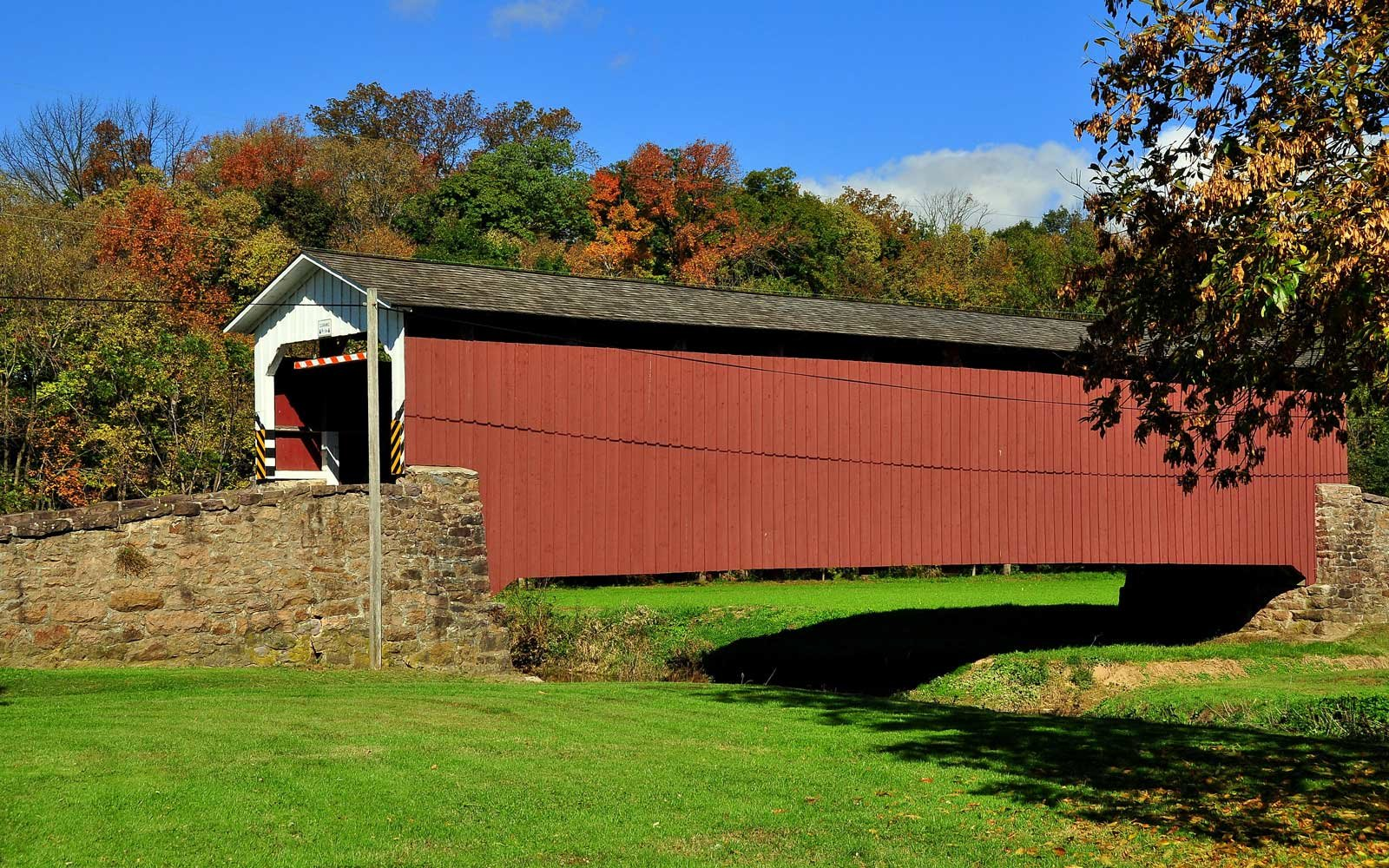 Weavers Mill Bridge East Earl Pennsylvania