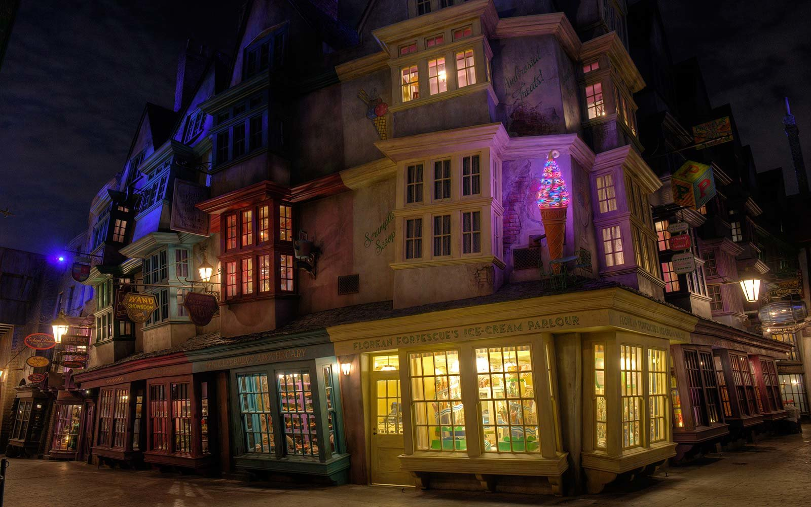 Universal Orlando Resort Harry Potter Wizarding World Florida Dining Food Diagon Alley
