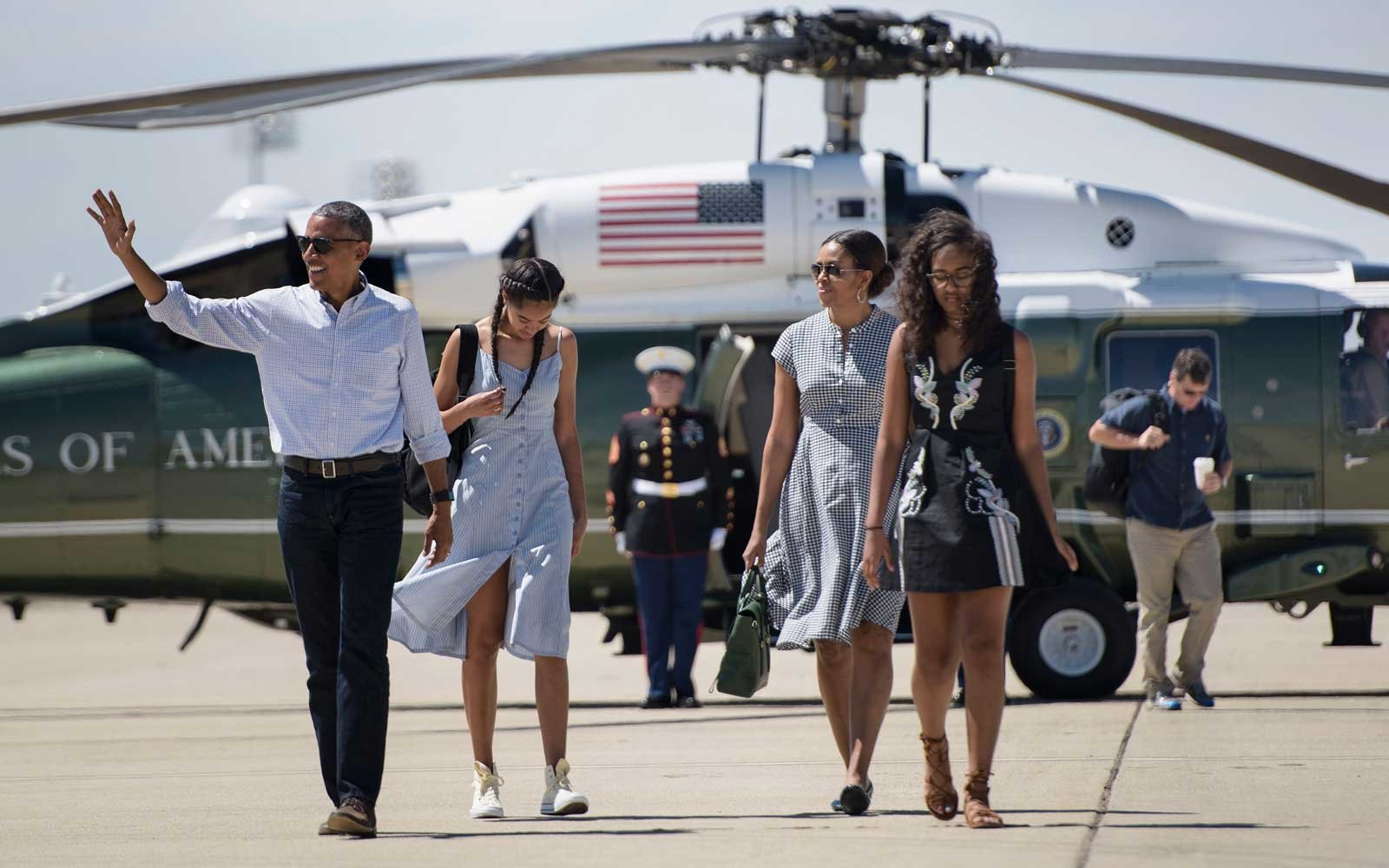 Michelle Obama and Family