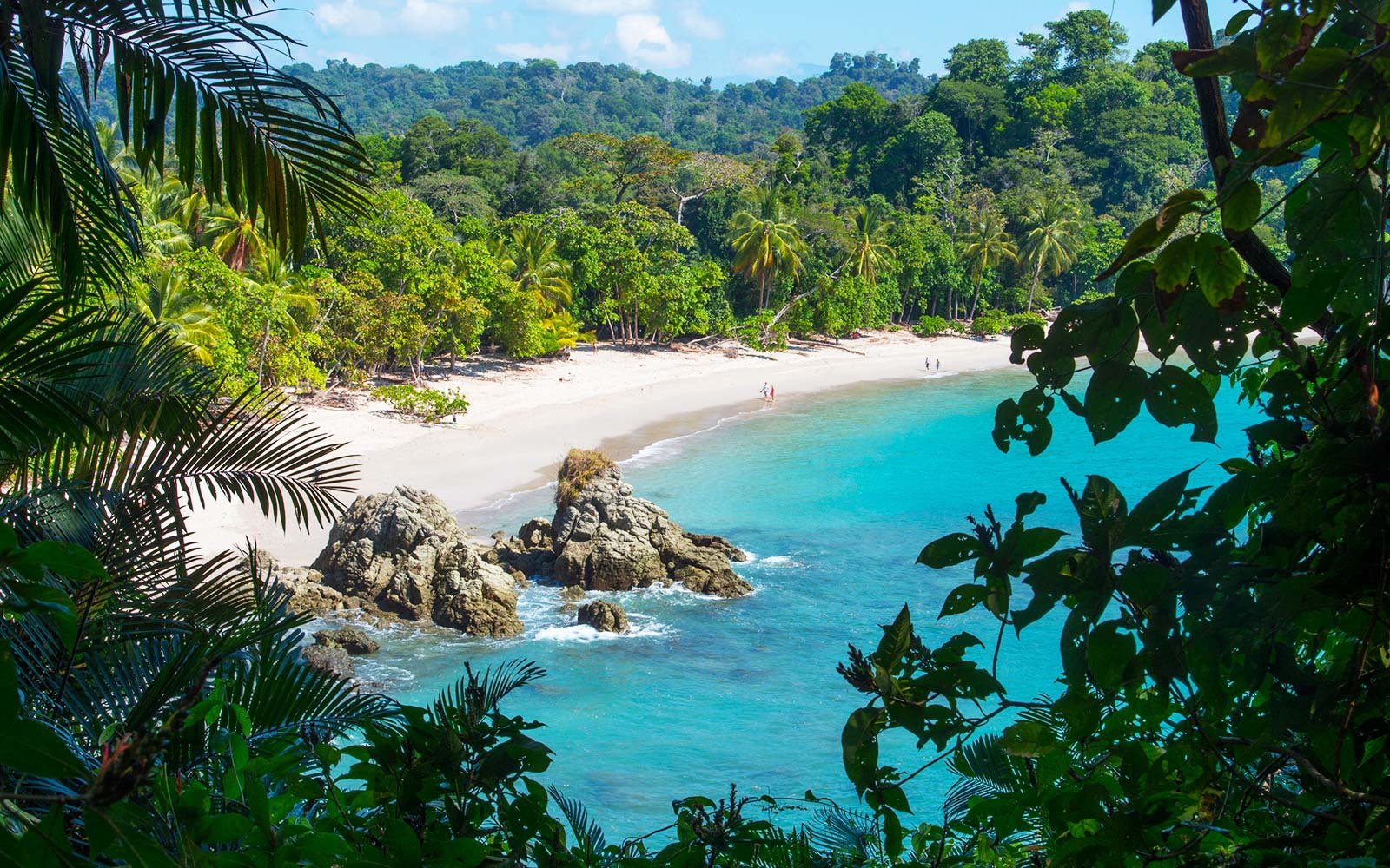 Costa Rica Tropical Rainforest with beach, Best Places to Spend Your Retirement