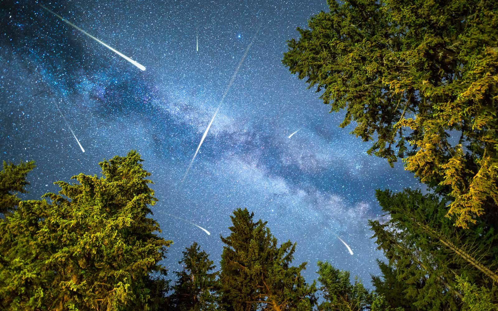 Milky Way Meteor Shower