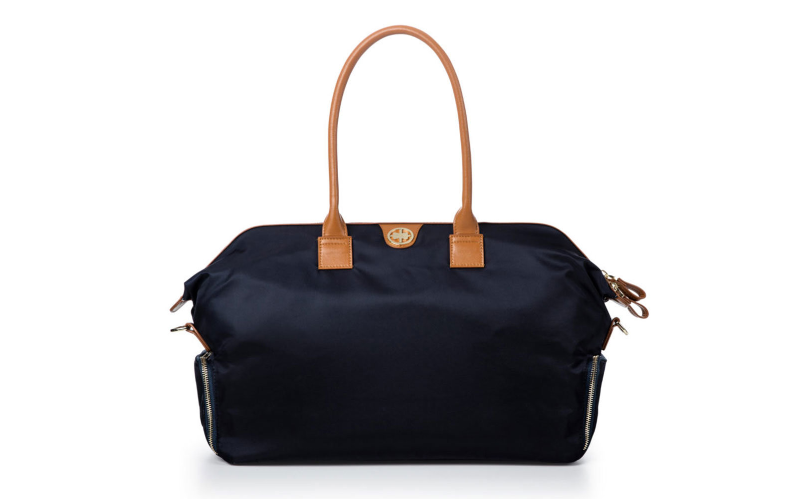 weekender bag with shoe compartment